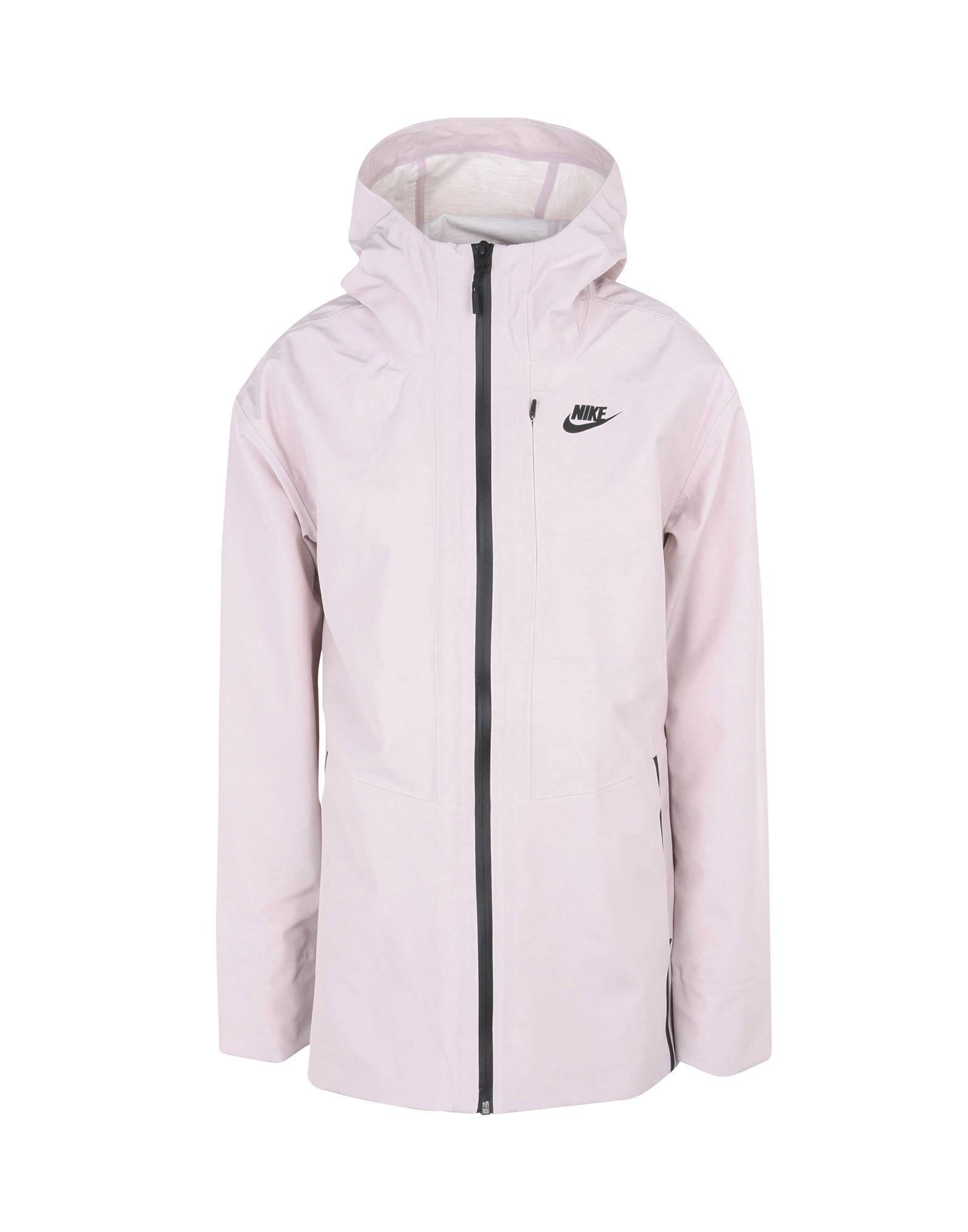 f8f9649f7f45 Nike Jacket in Pink - Lyst