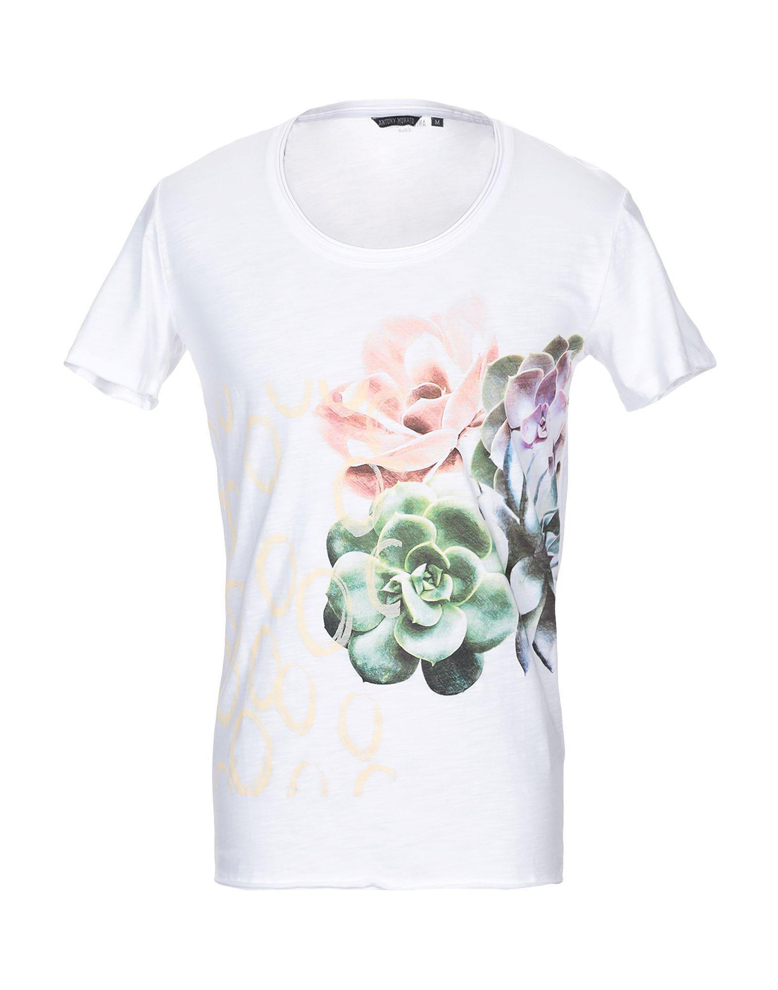 e8860354 Antony Morato T-shirt in White for Men - Lyst