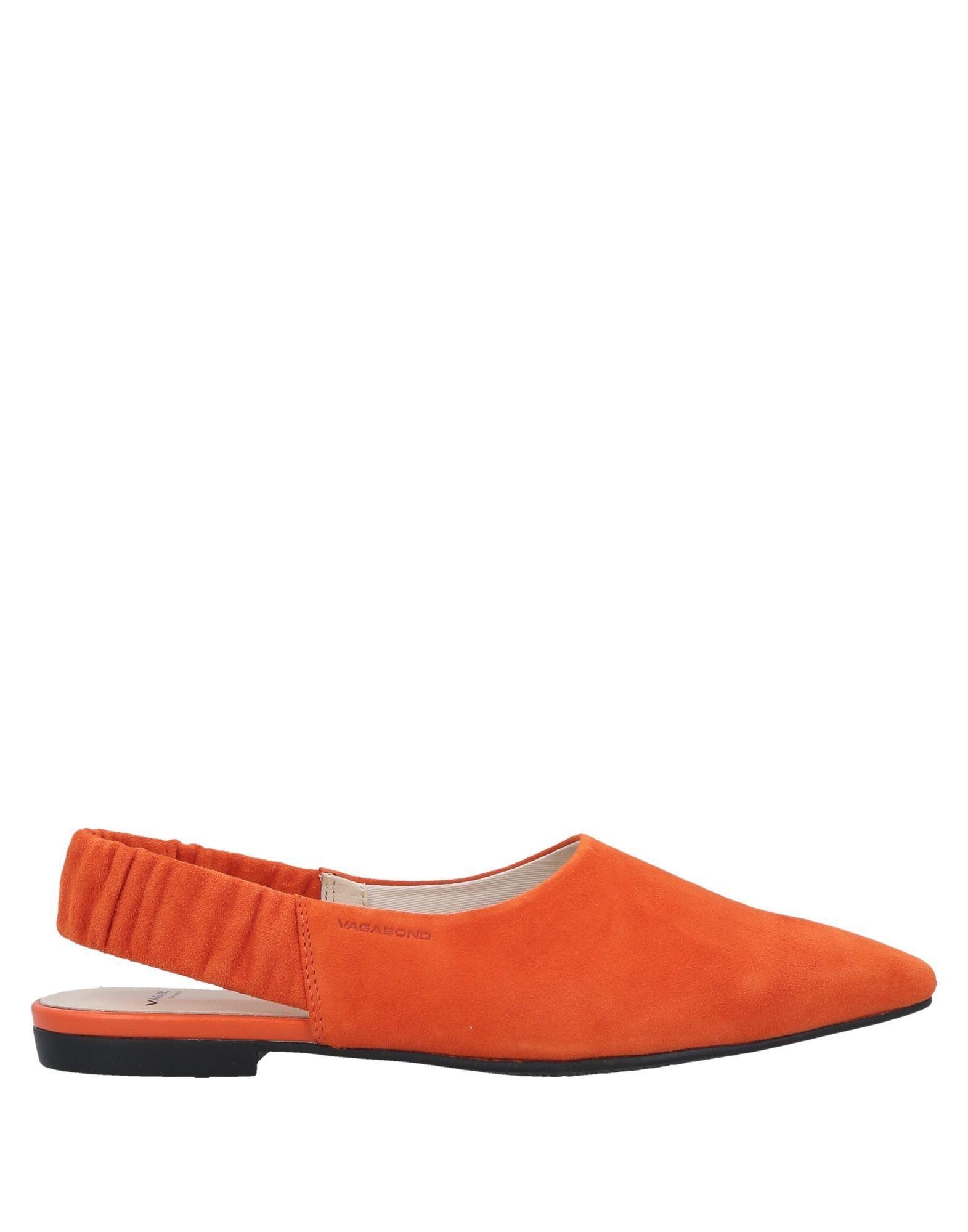 82b4e38400e7 Vagabond - Orange Ballet Flats - Lyst. View fullscreen