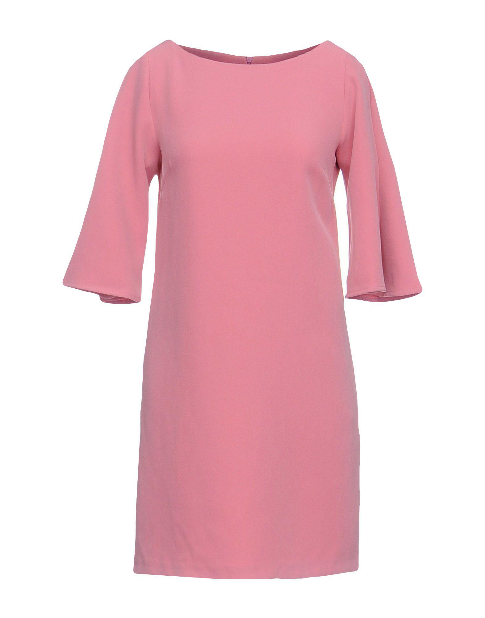 Lyst Twenty Easy By Kaos Short Dress In Pink Dior