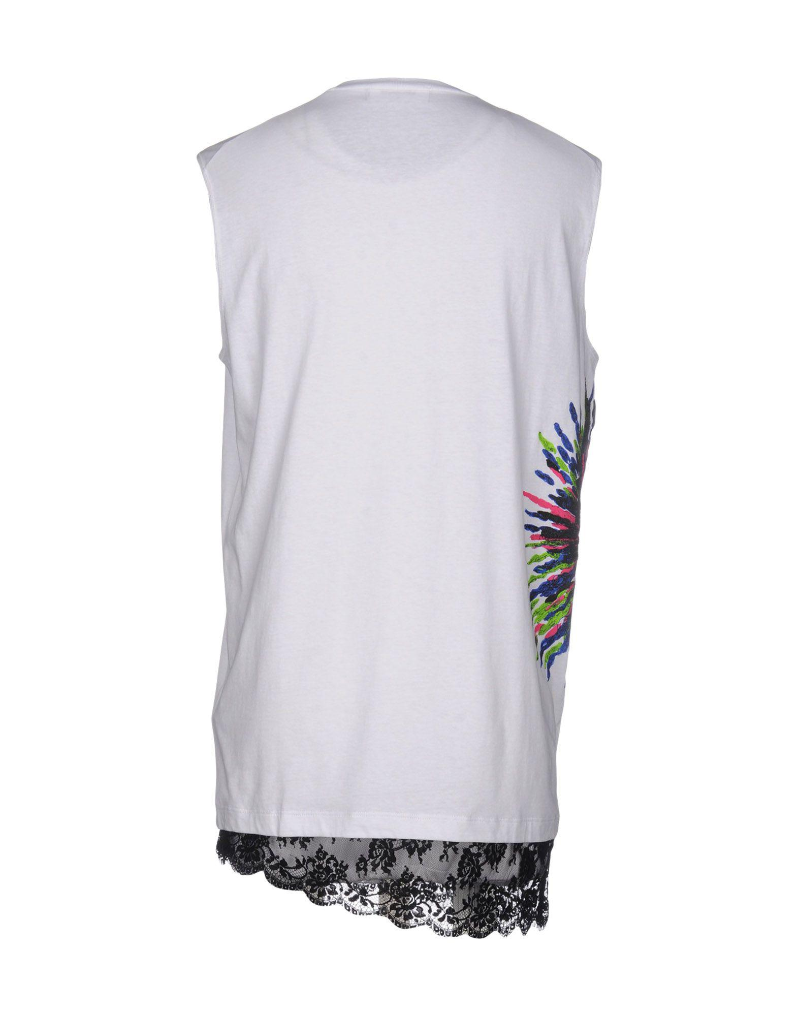 Lyst - DSquared² T-shirt in White for Men c75c81ff8