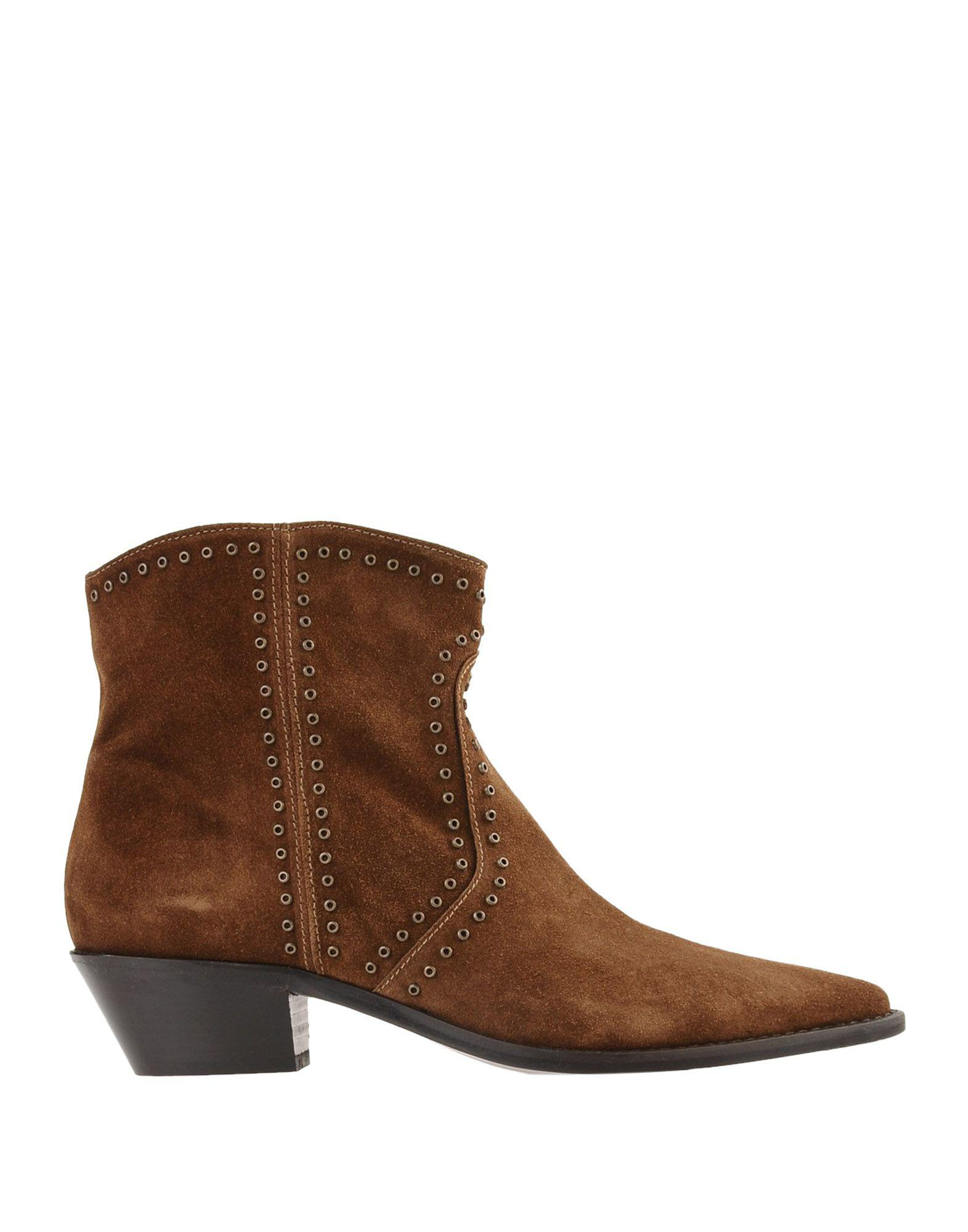4a68d88b2aa5 Lemarè - Brown Ankle Boots - Lyst. View fullscreen