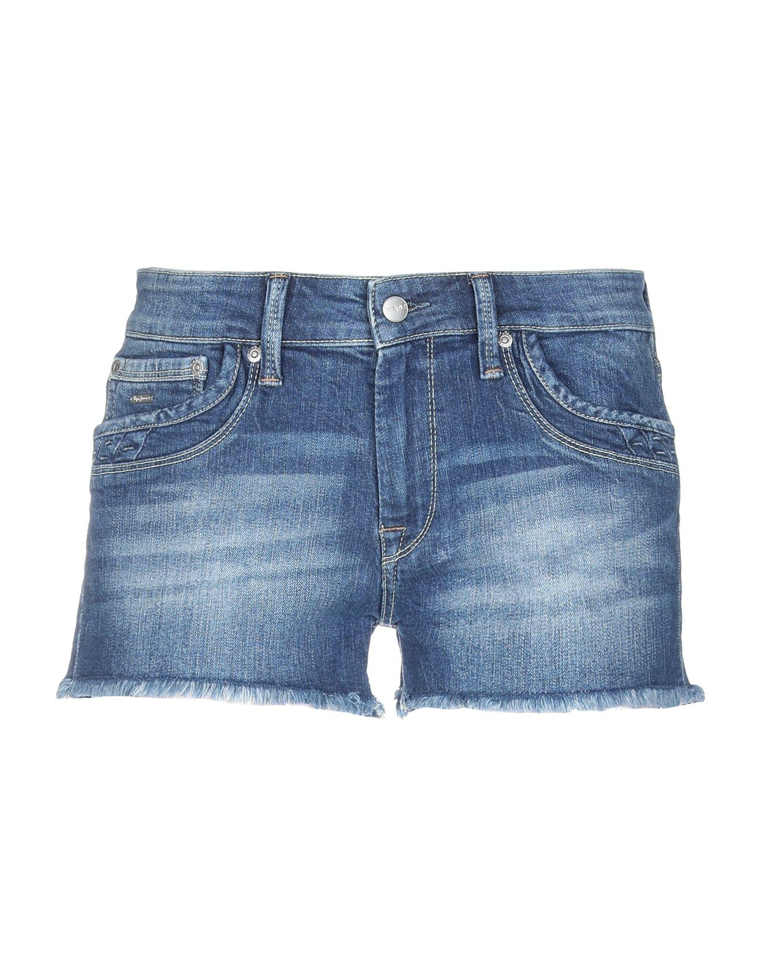 340b21fc96 Short en jean Pepe Jeans en coloris Bleu - Lyst