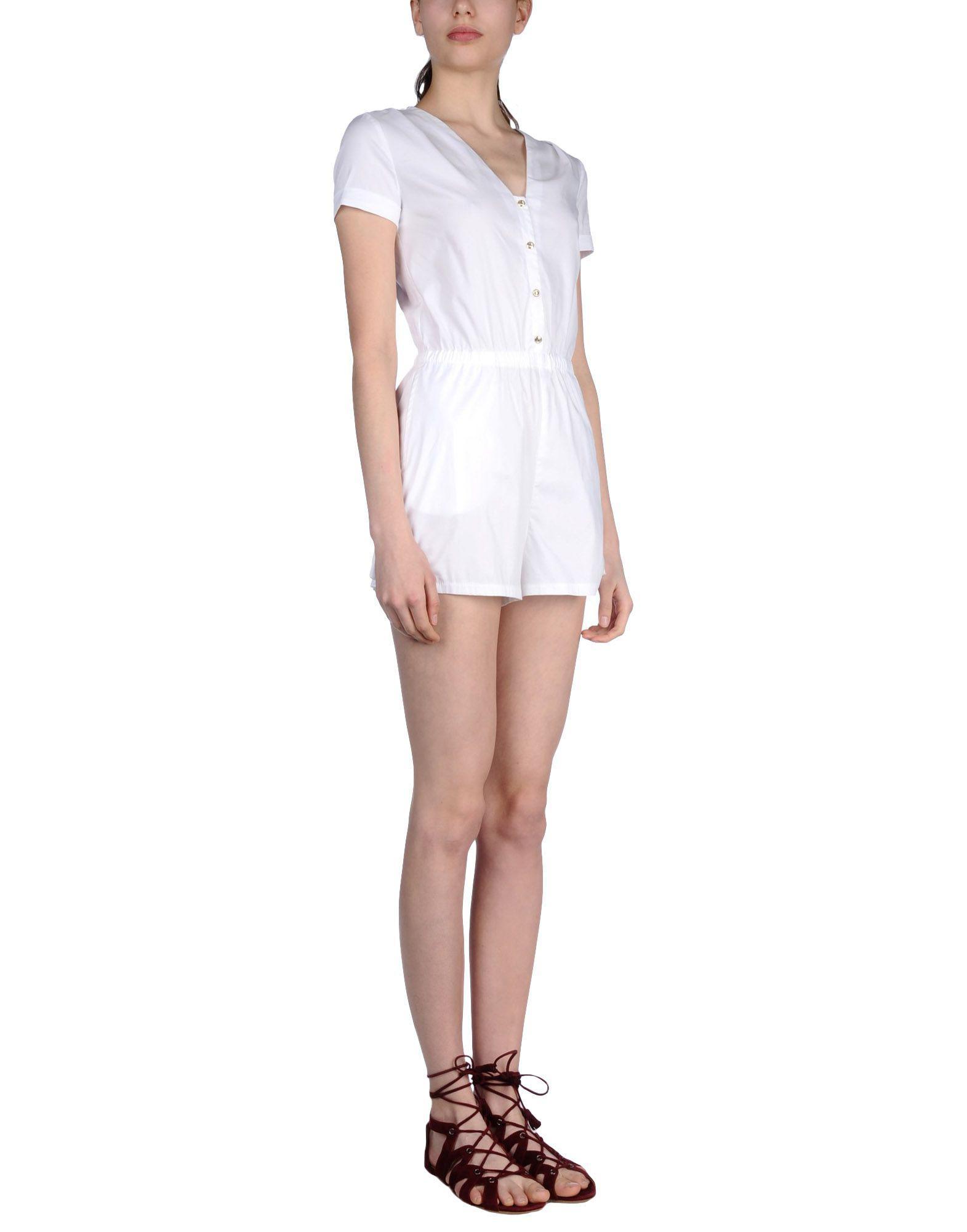 86b274e53d Patrizia Pepe - White Jumpsuit - Lyst. View fullscreen