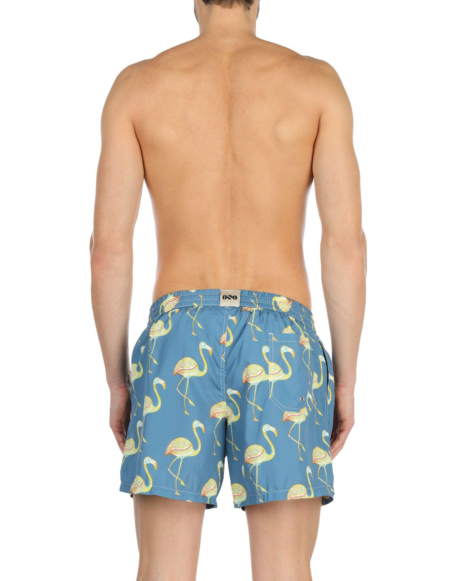 2969217a95fc7 Lyst - Nos Beachwear Swimming Trunks in Blue for Men