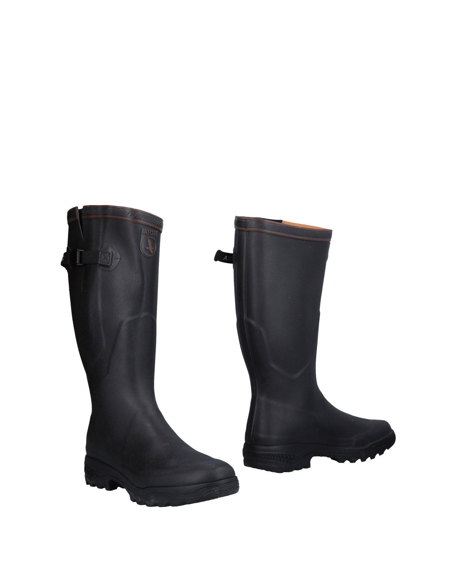 6fc1edd62a3f Aigle - Black Boots - Lyst. View fullscreen