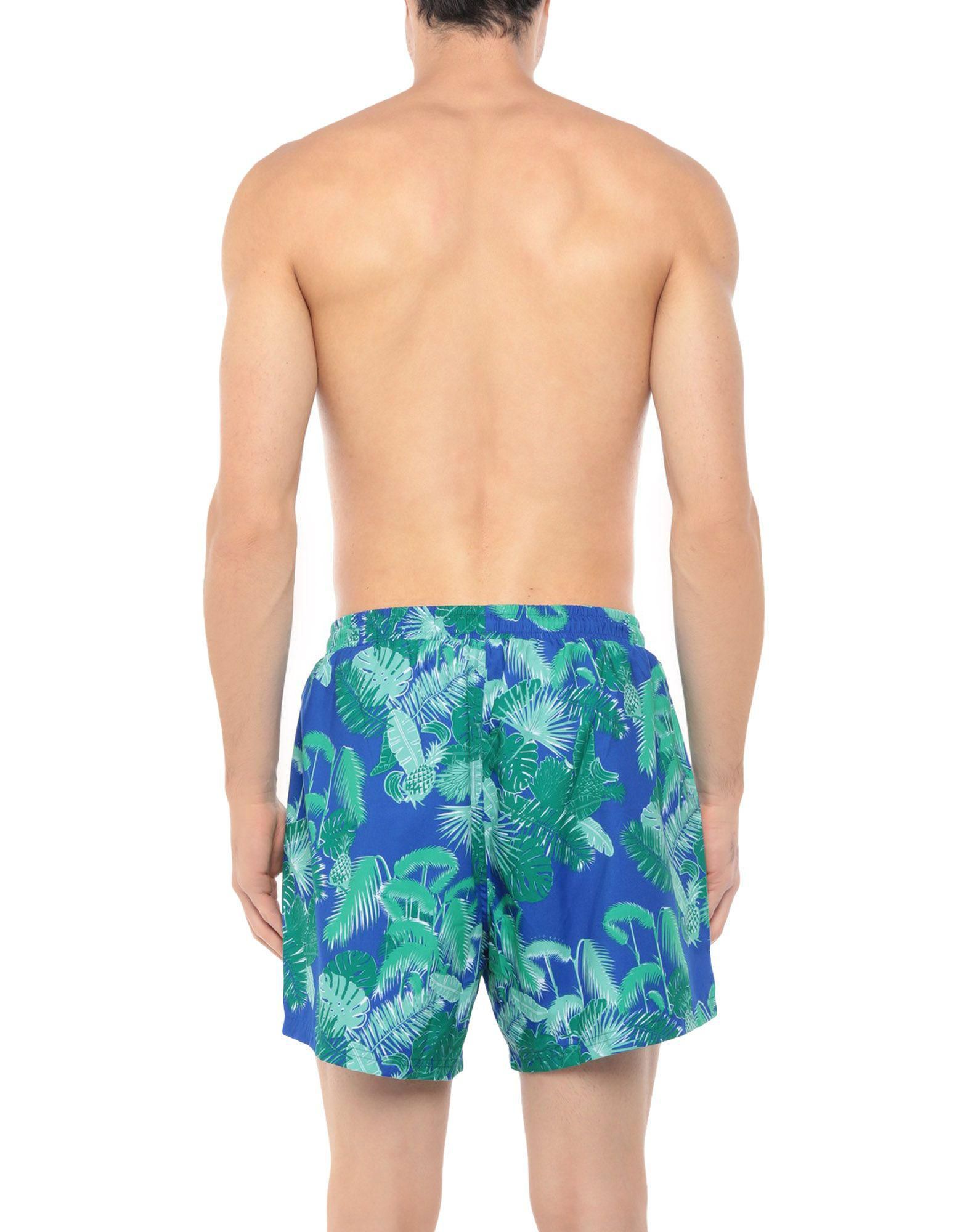 4d0a1fe21e Boss Black Swim Trunks in Blue for Men - Lyst