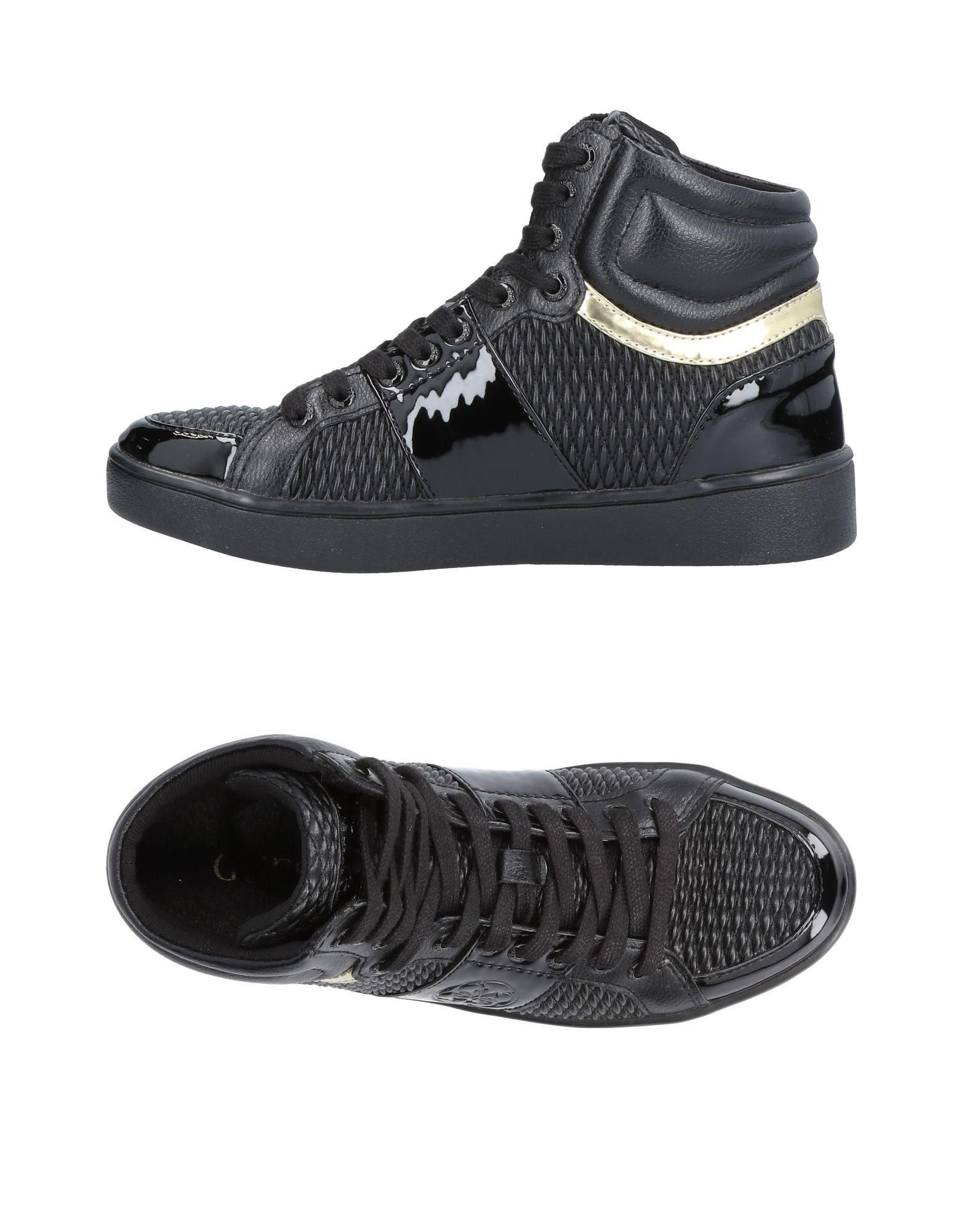 0f2d7619fa7a Lyst - Guess High-tops   Sneakers in Black for Men