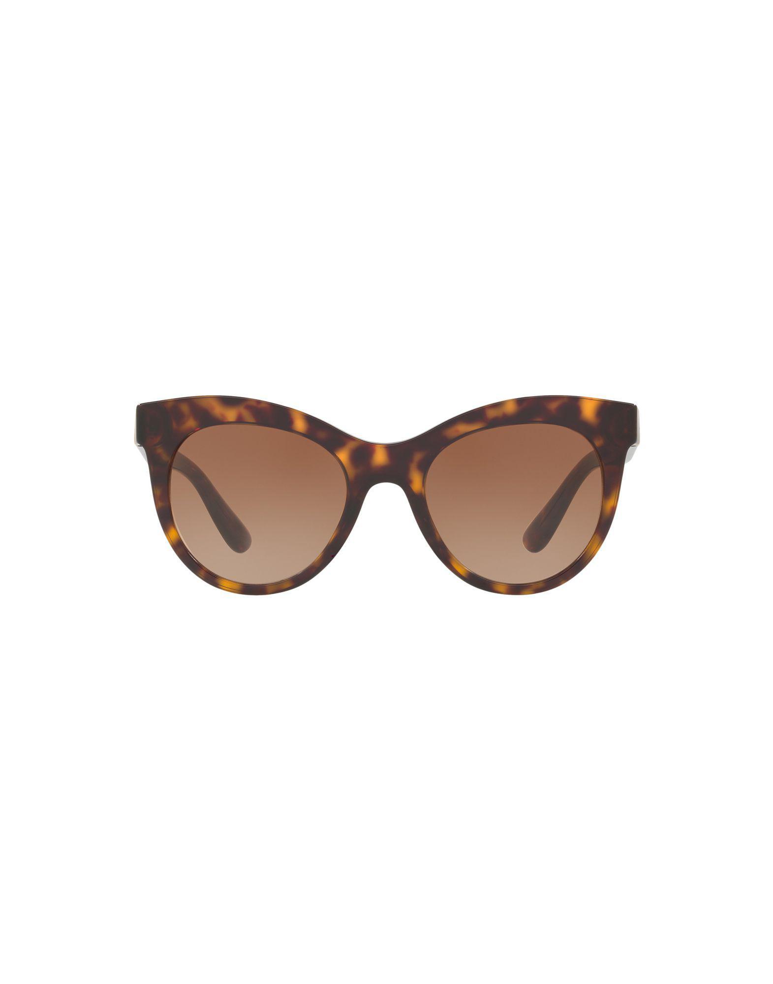 762ae386dd8 Dolce   Gabbana Sunglasses in Brown - Lyst