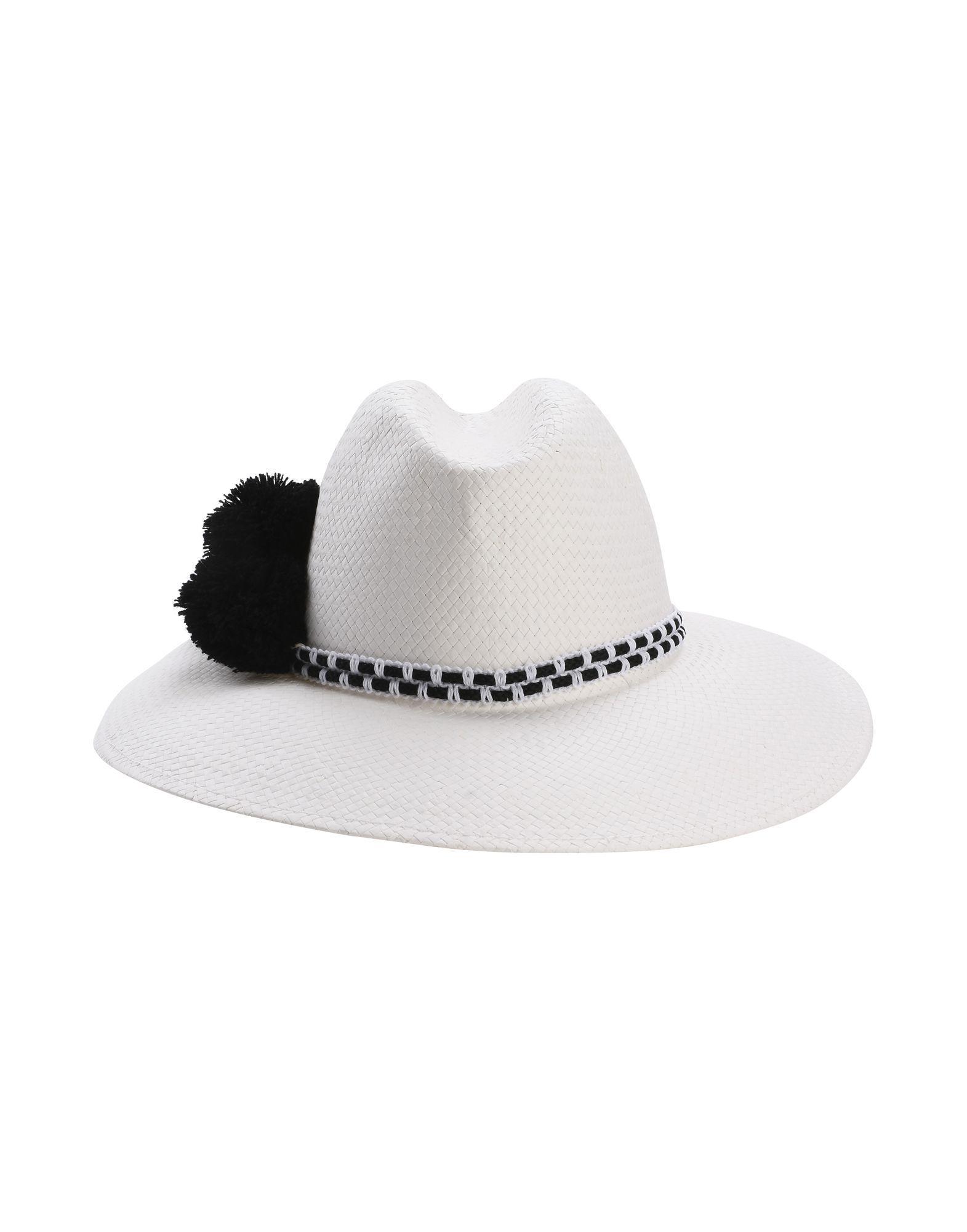 c2717f8a9faca Helene Berman Hat in White - Lyst
