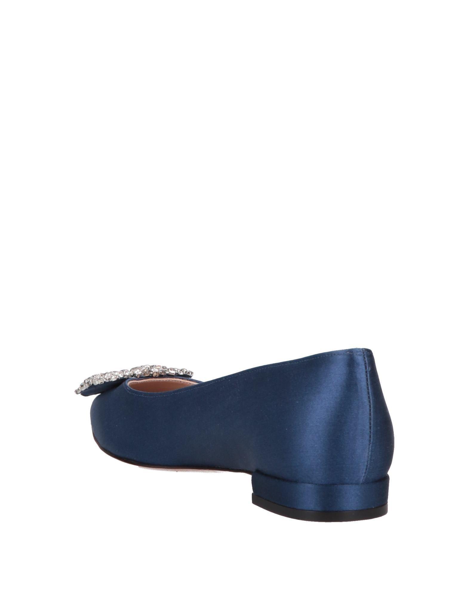 3dd7a15920d Stuart Weitzman Ballet Flats in Blue - Save 1% - Lyst