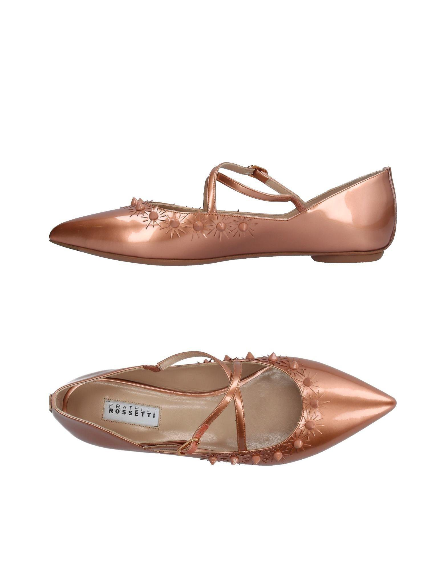 cheap sale with mastercard purchase cheap online Fratelli Rossetti Glitter-Embellished Round-Toe Flats outlet 2014 cheap sale best sale 7MFhYw
