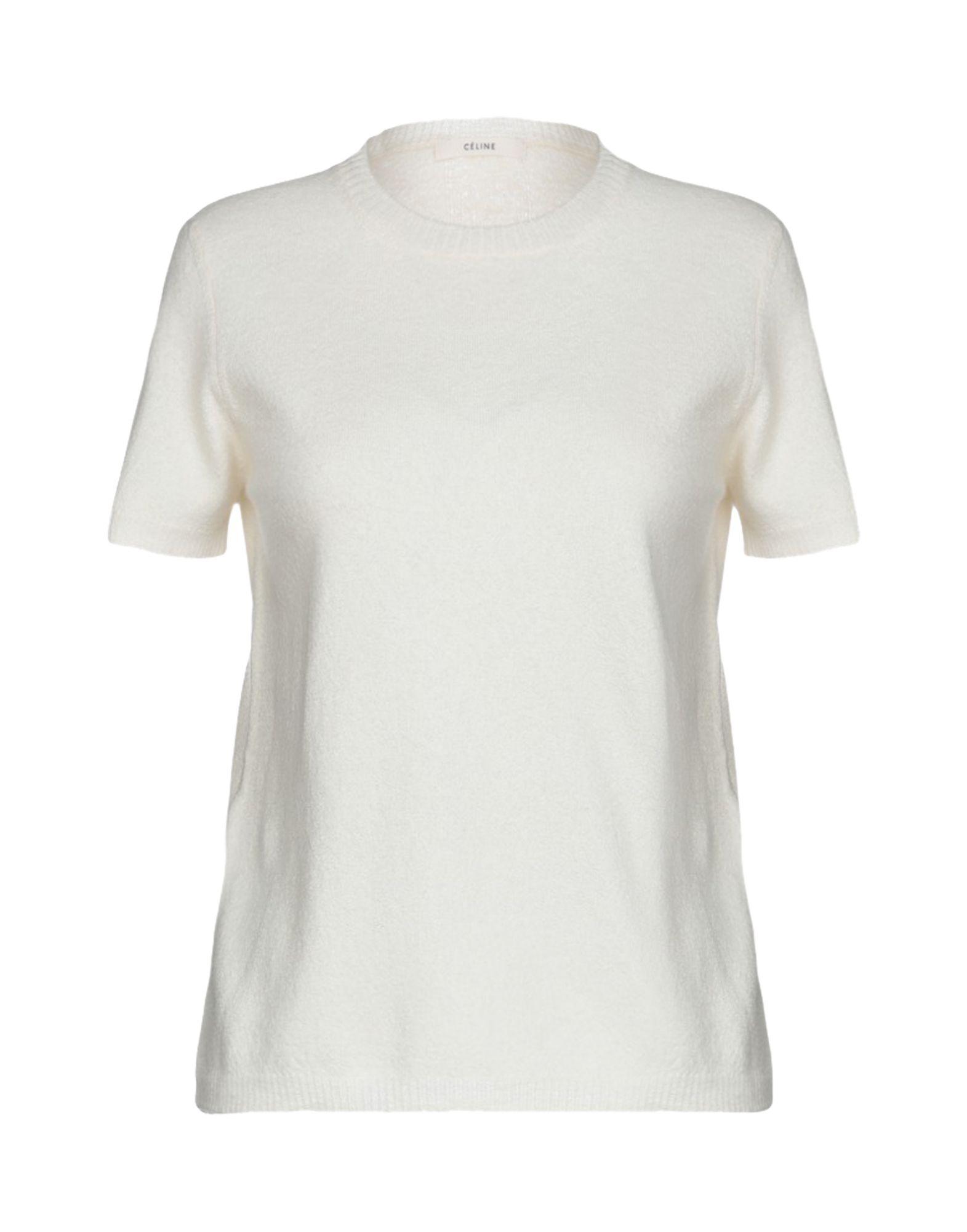 ef6891d8f4e Céline Jumper in White - Lyst
