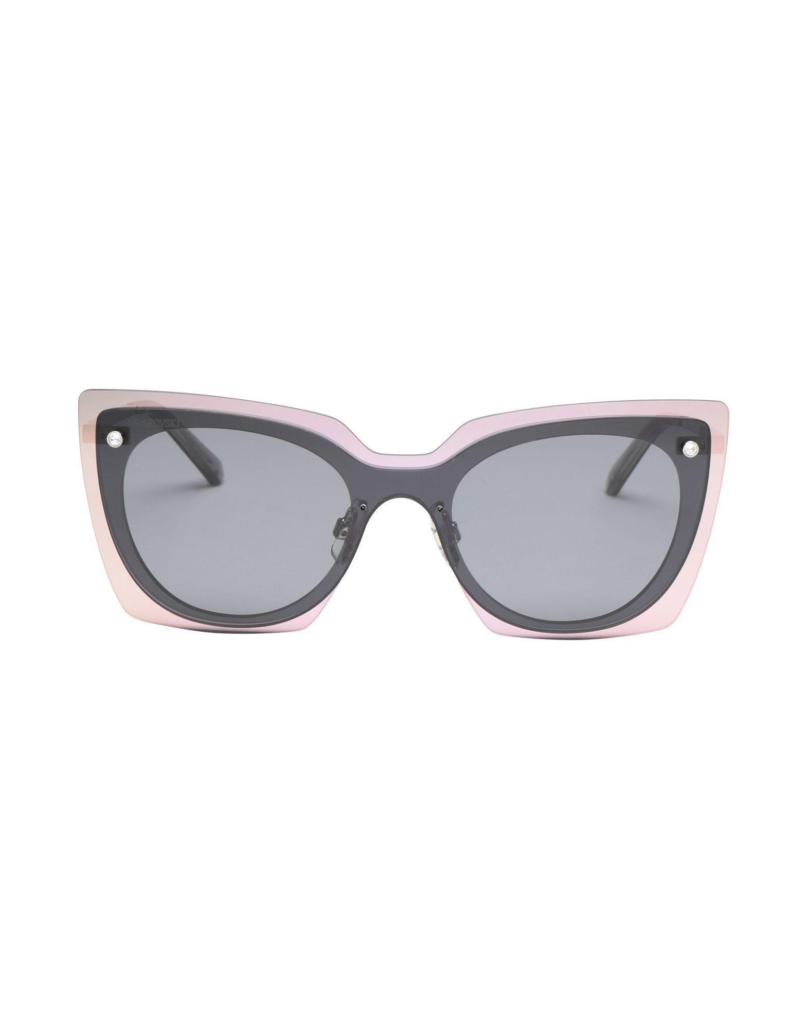 541e08d276 Swarovski Sunglasses in Black - Lyst