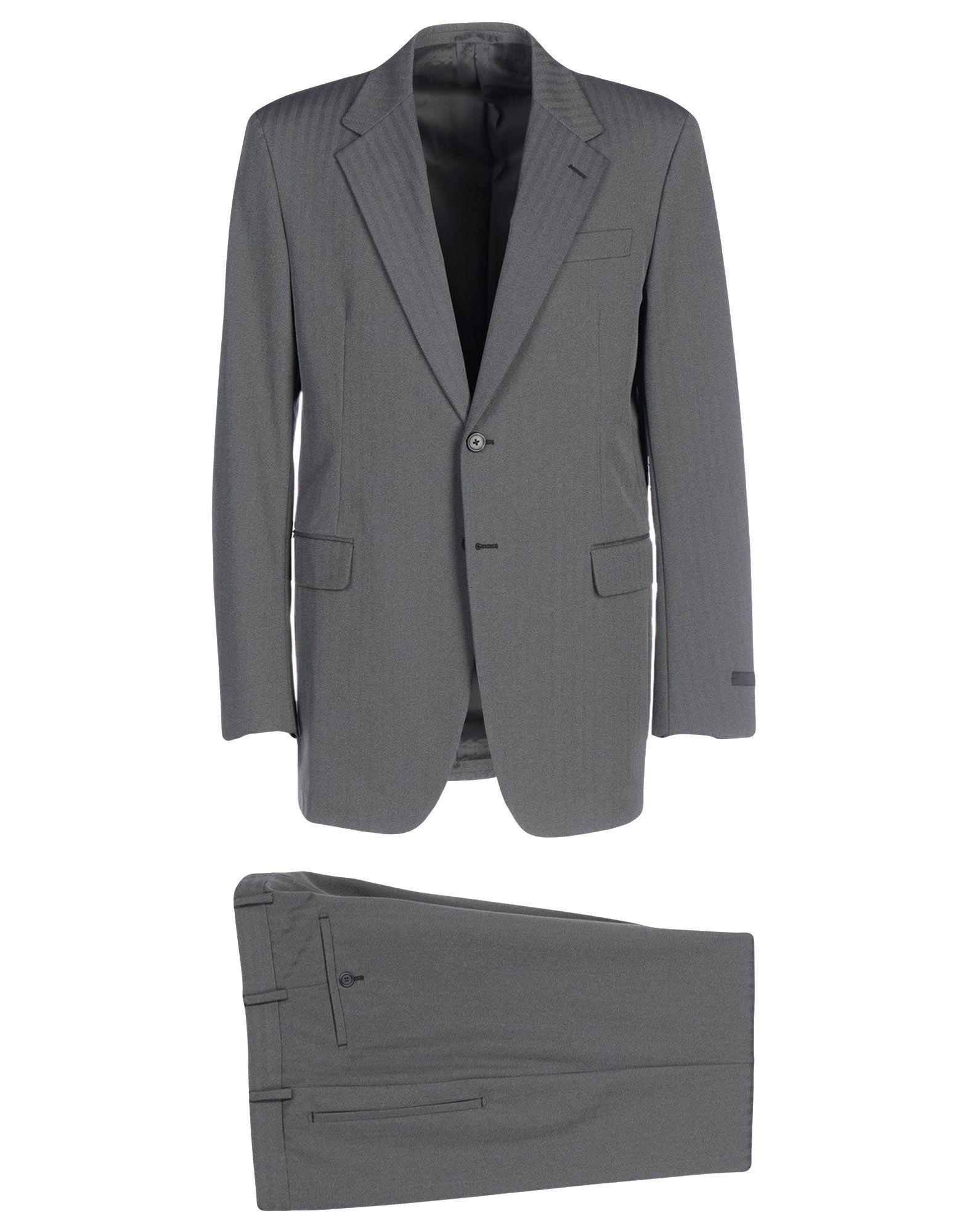 0dc5706e0ba04 Lyst - Costume Prada pour homme en coloris Gris