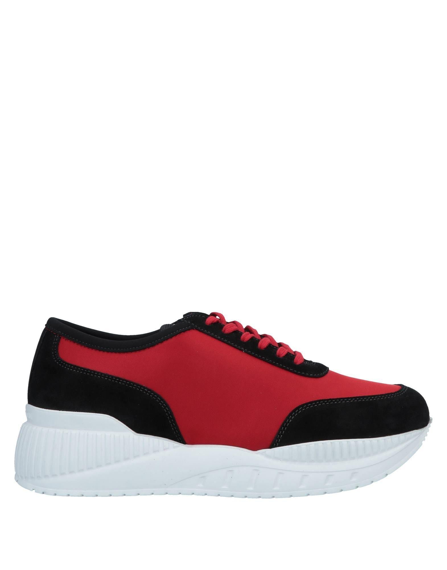 new product fdb3a 8bf86 Emporio Armani. Mens Red Low-tops ...