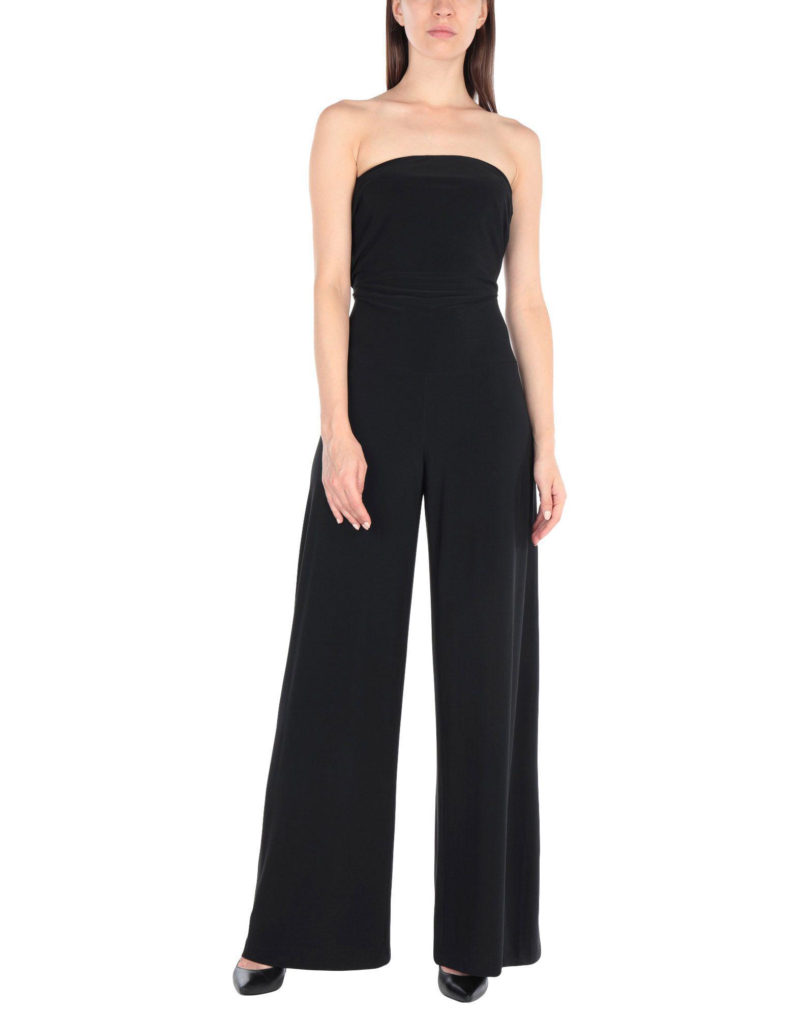 d6e9a00349c Lyst - Norma Kamali Jumpsuit in Black