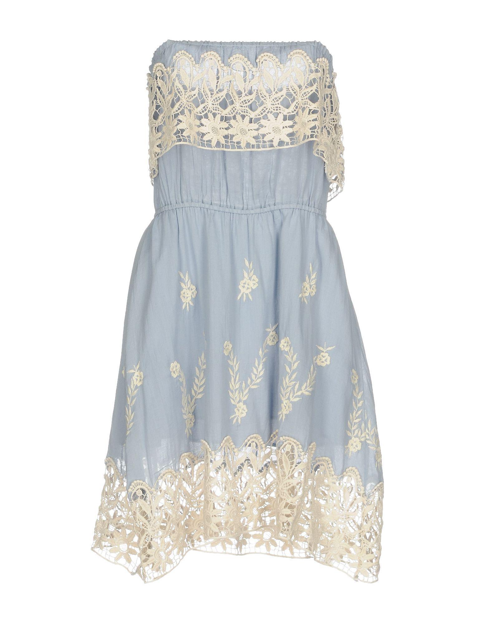 DRESSES - Short dresses Christophe Sauvat O5X4nQAe0