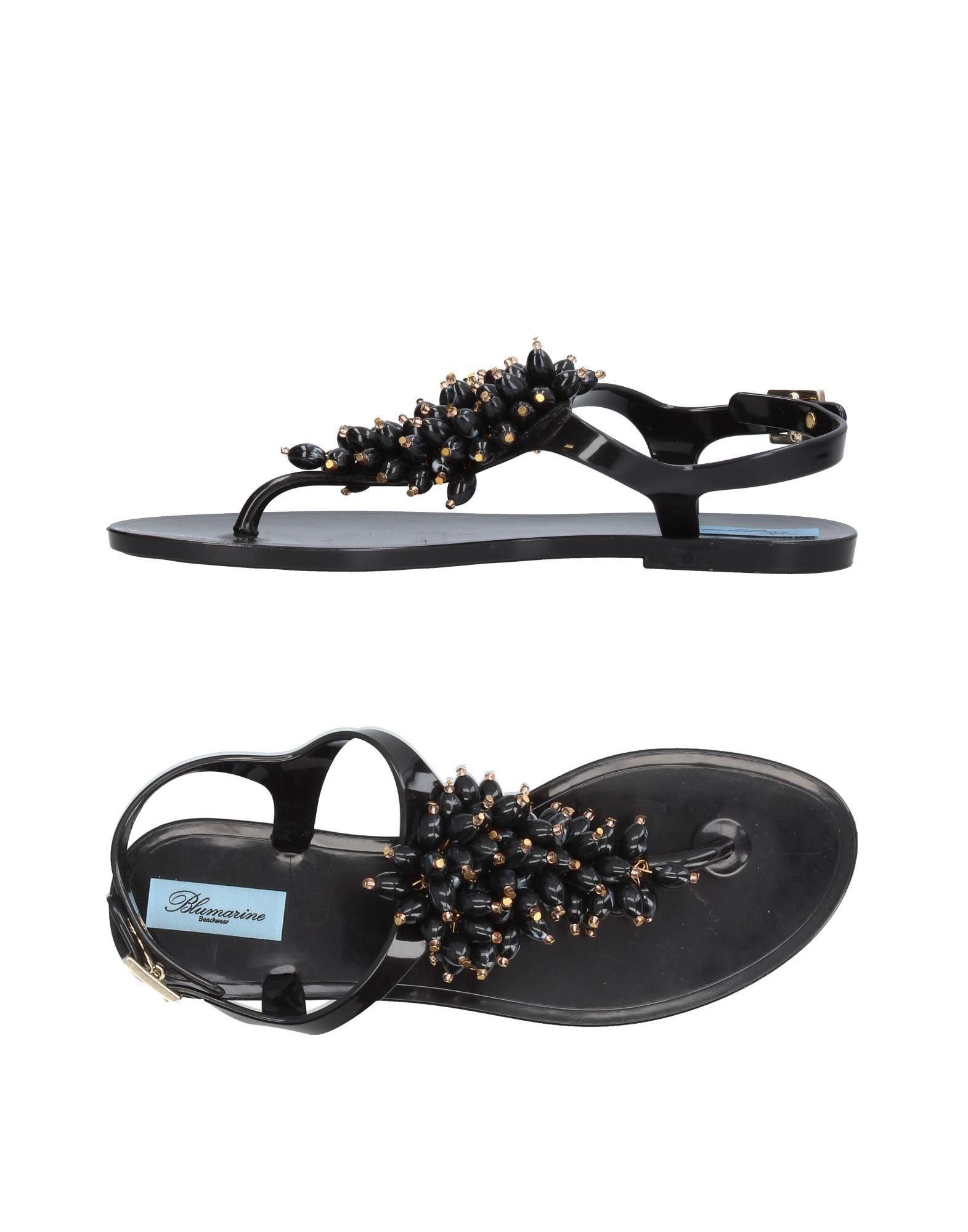 FOOTWEAR - Toe post sandals Blumarine CIHyMYn