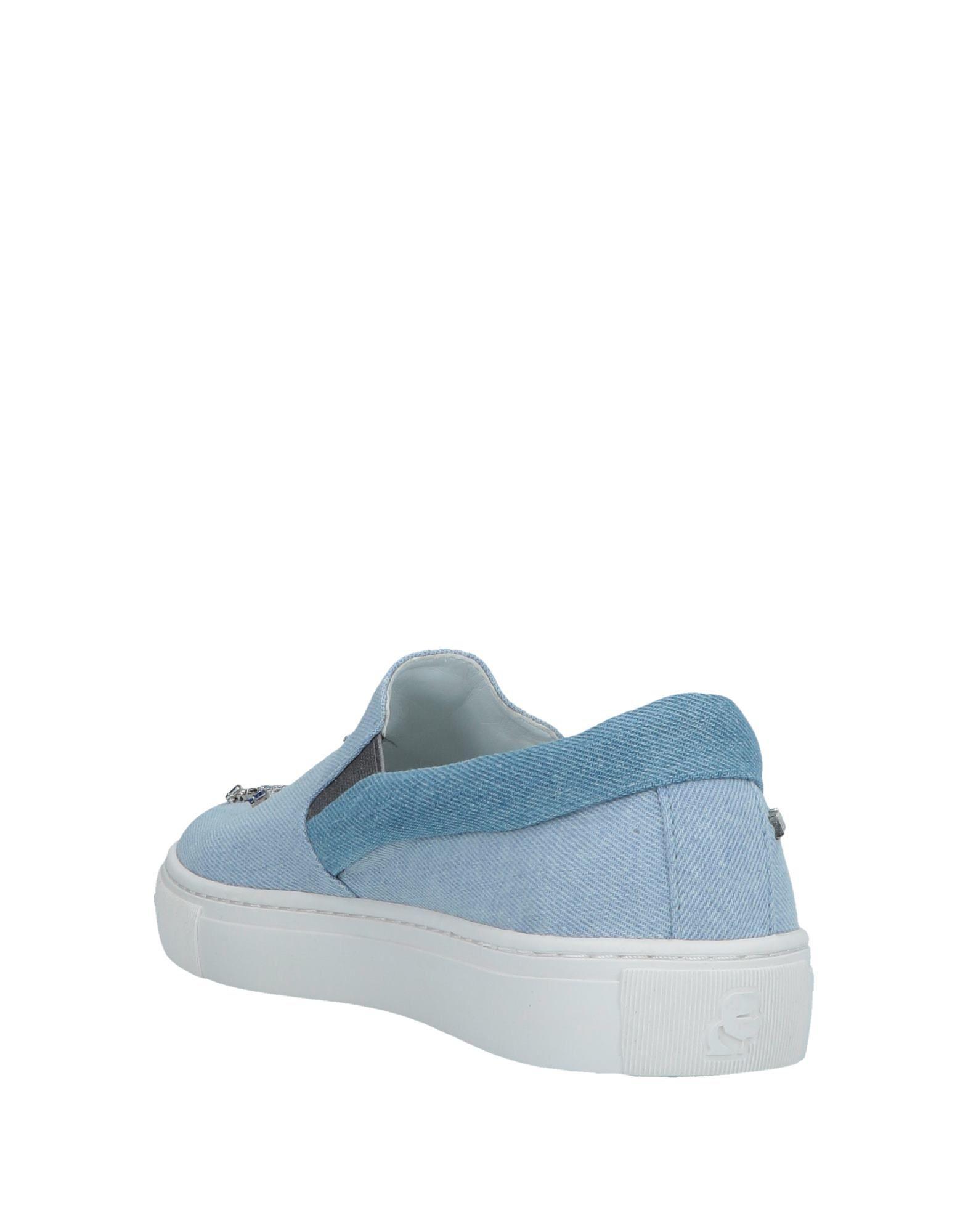 premium selection c100b 51b83 Lyst - Karl Lagerfeld Low-tops  Sneakers in Blue