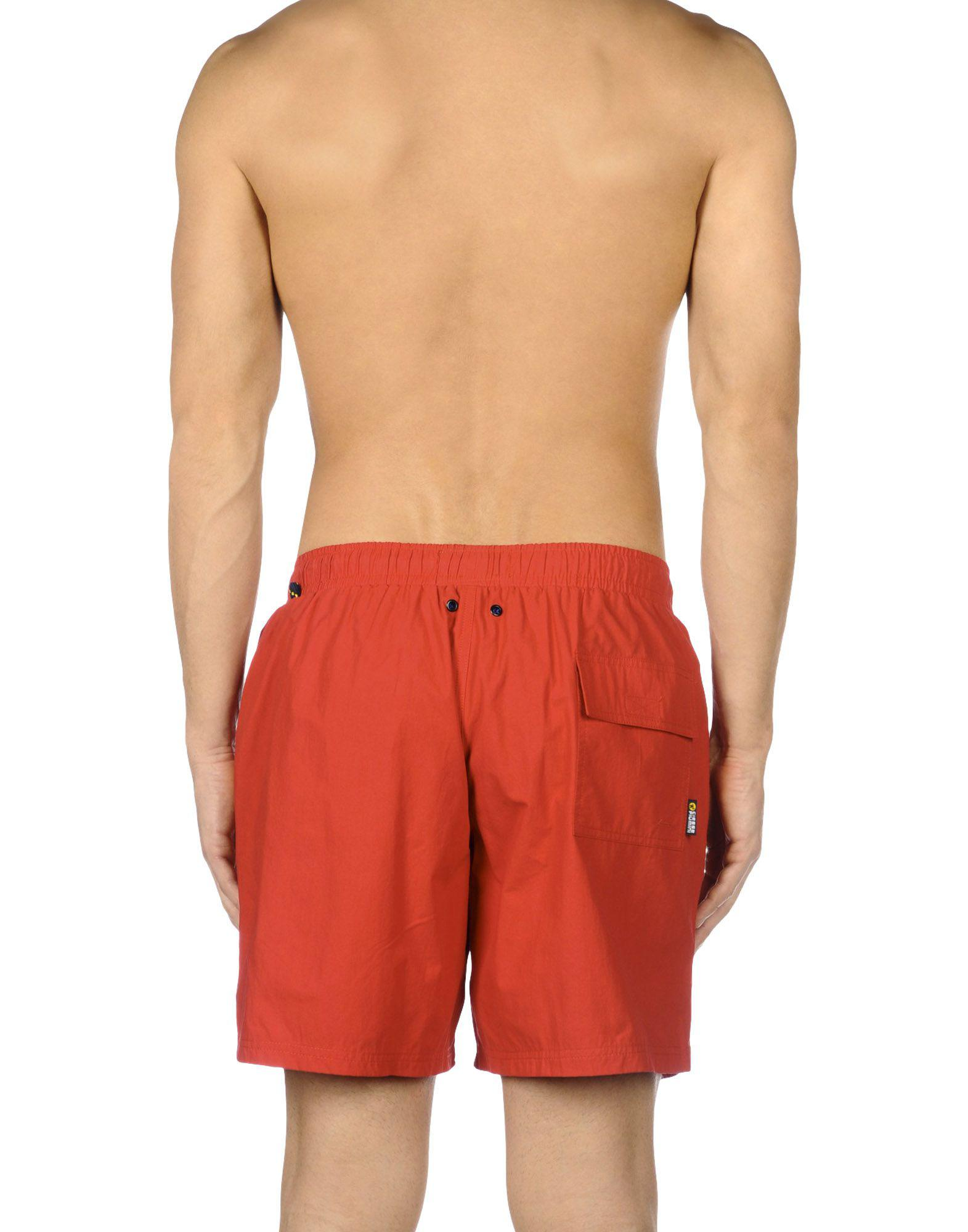 d0c0dc3fb8c10 Lyst - Ciesse Piumini Swimming Trunks in Red for Men