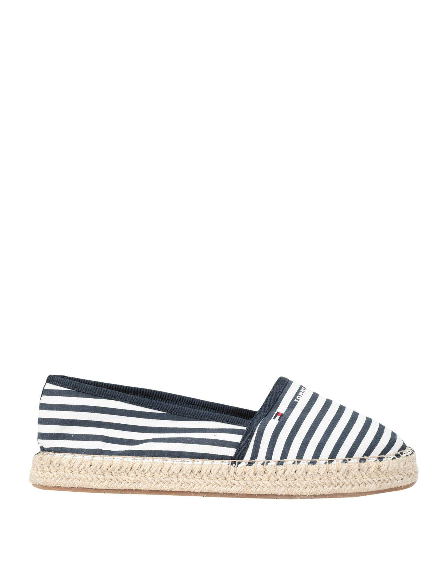 b065cfd30 Tommy Hilfiger Striped Logo Espadrilles in Blue - Save 16% - Lyst