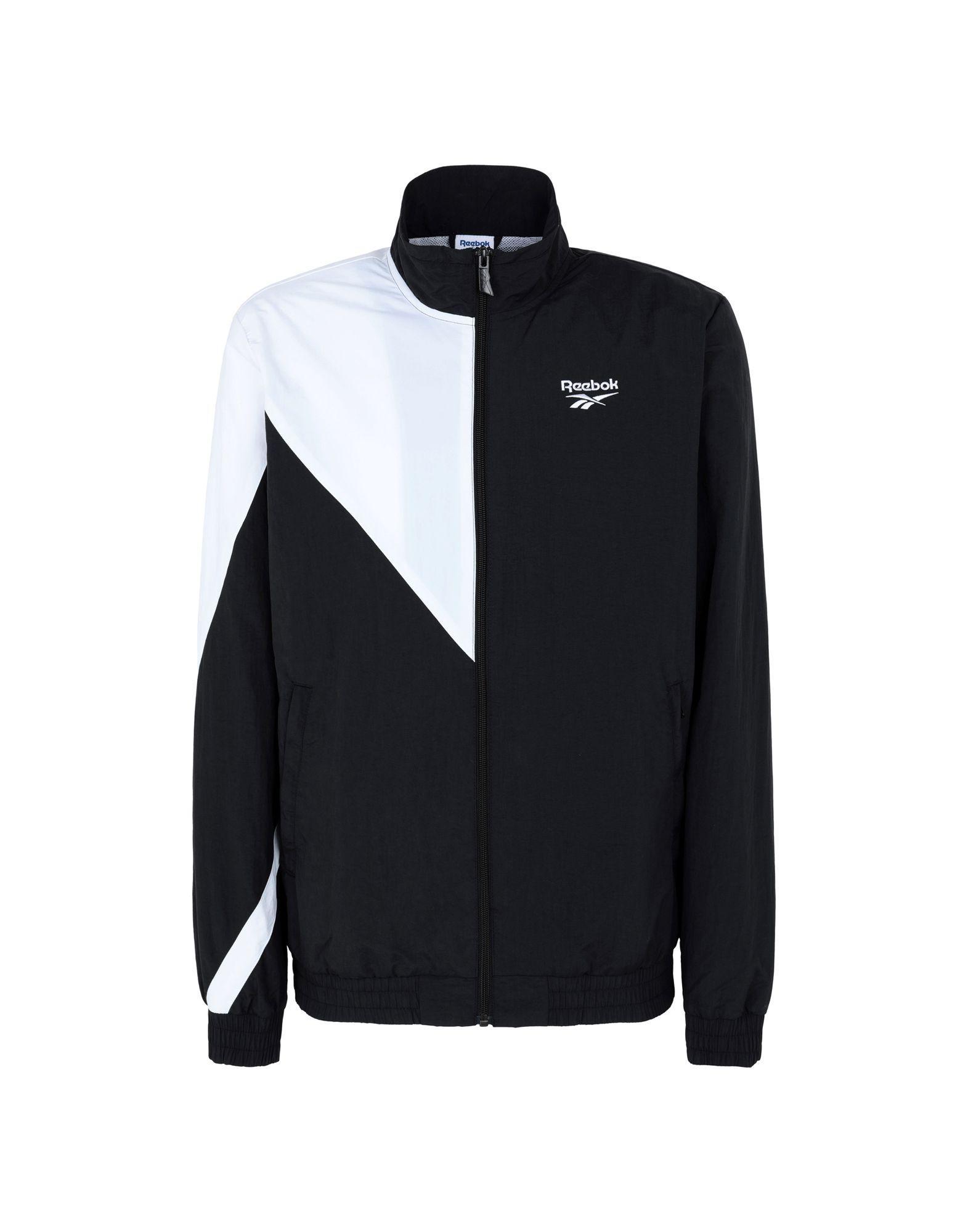 Lyst - Veste zippée colour block Reebok pour homme en coloris Noir ... 805cdd79c659
