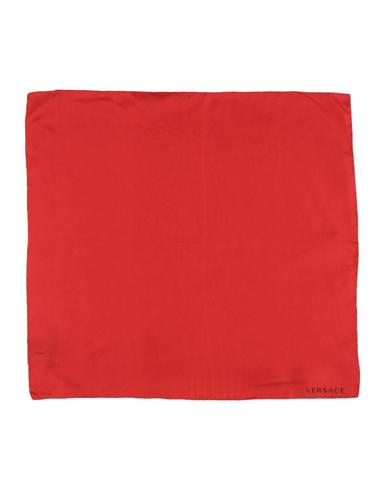 Lyst - Foulard Versace pour homme en coloris Rouge 0b10f04fa09