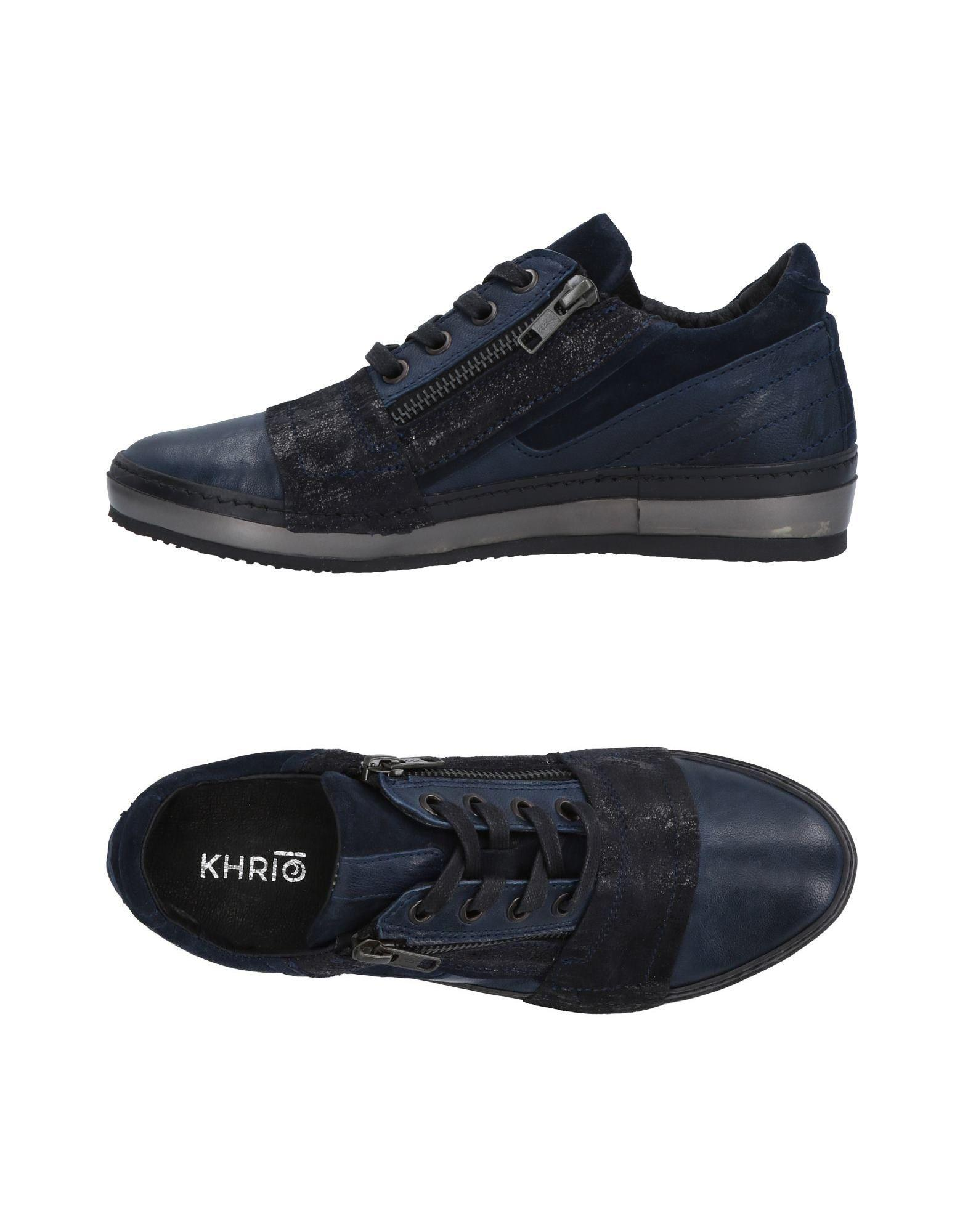 Sneakers amp; in Blue Khrio tops Low Lyst IFq07