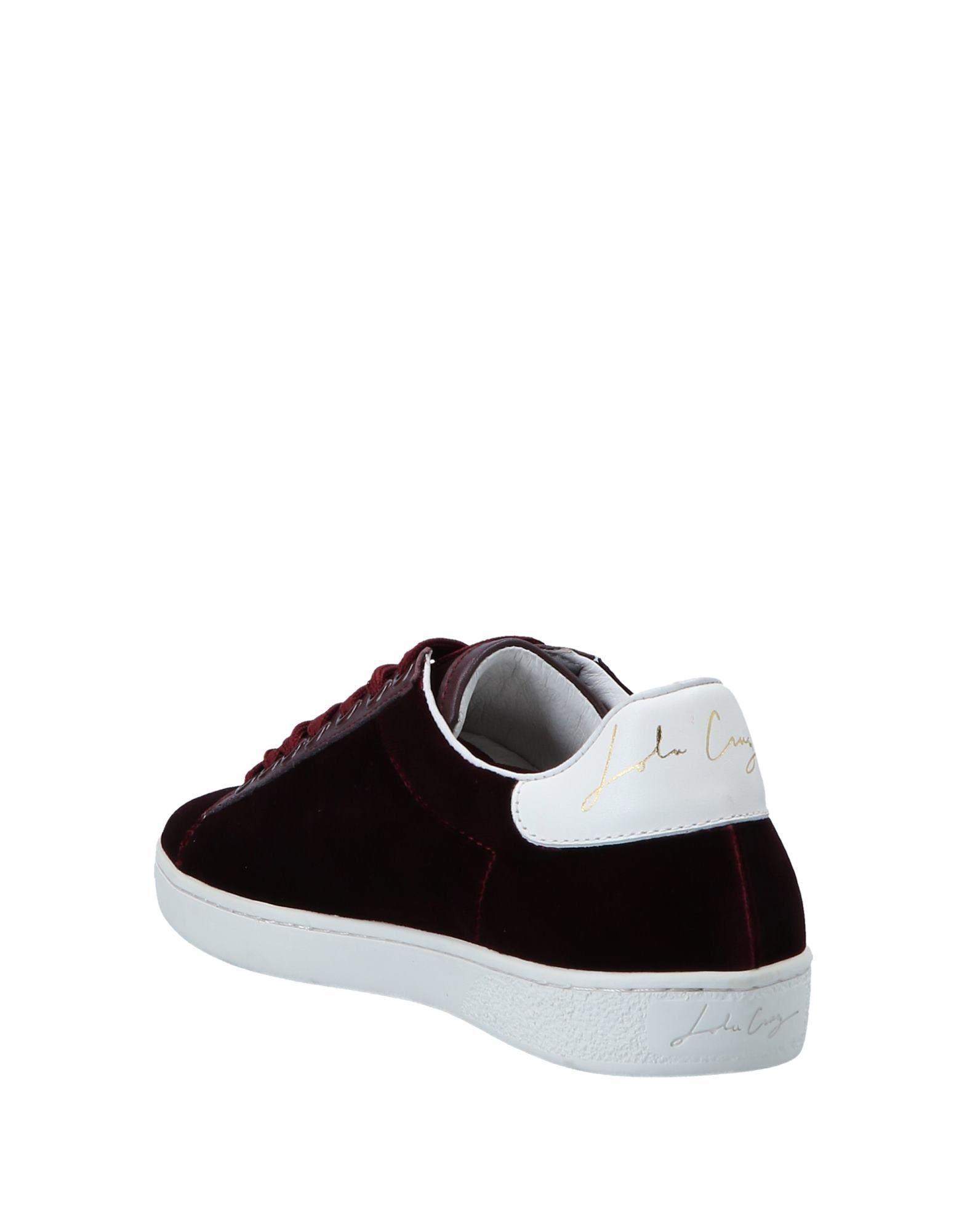 quality design 1832f 0ae04 lola-cruz-Deep-purple-Low-tops-Sneakers.jpeg