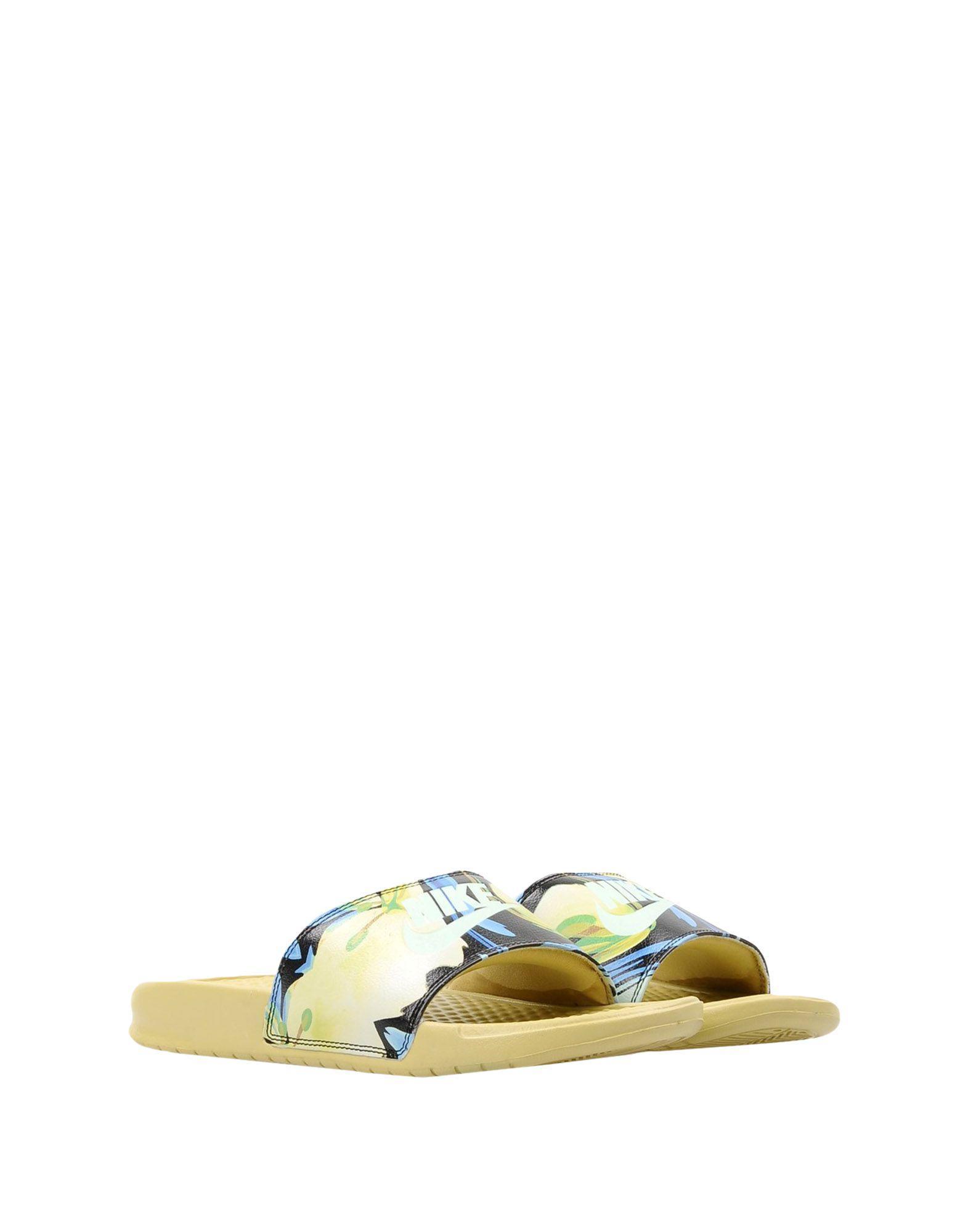 79ad2e2dd685 Nike Sandals in Green - Lyst