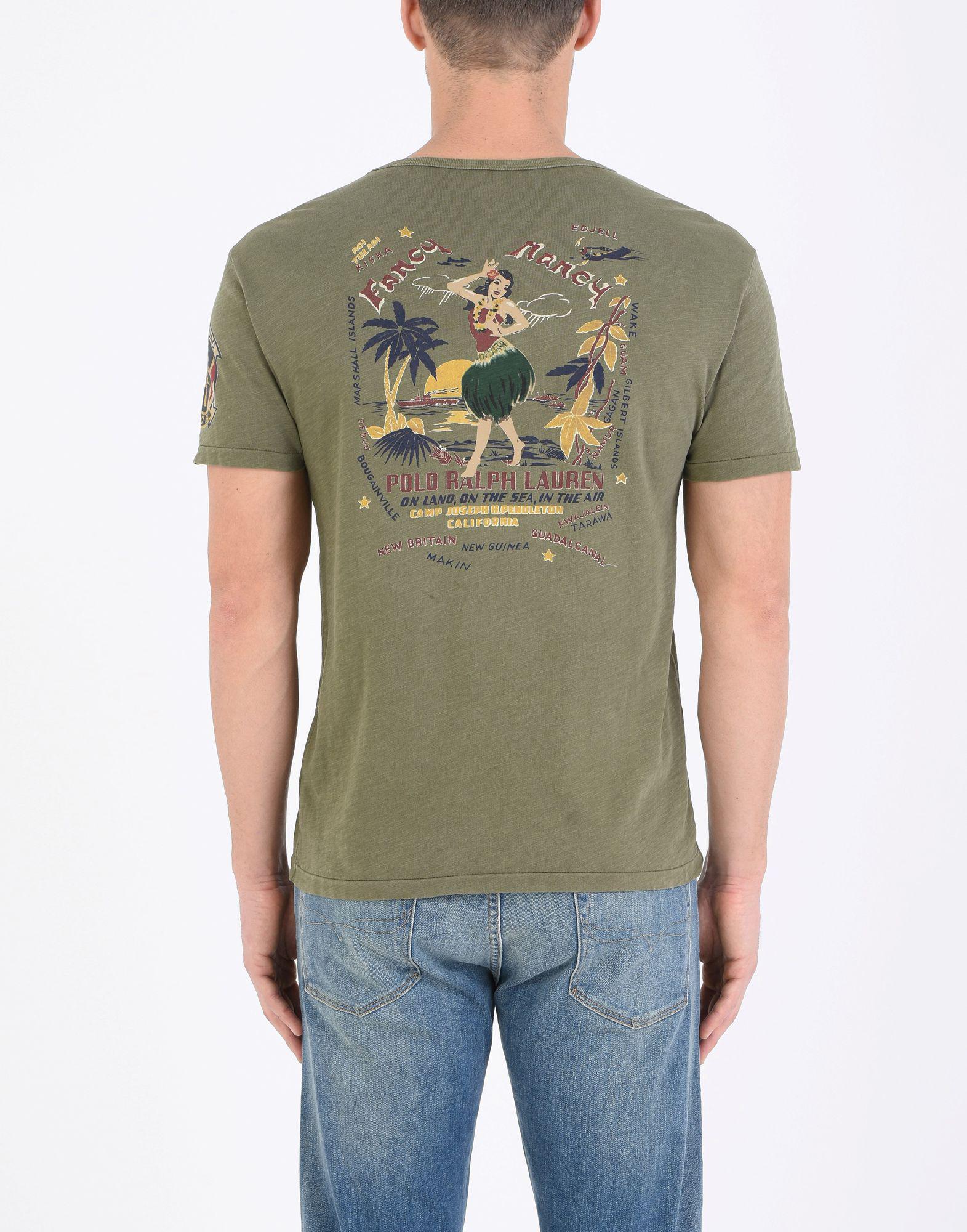 Polo Ralph Lauren T Shirt In Green For Men Lyst
