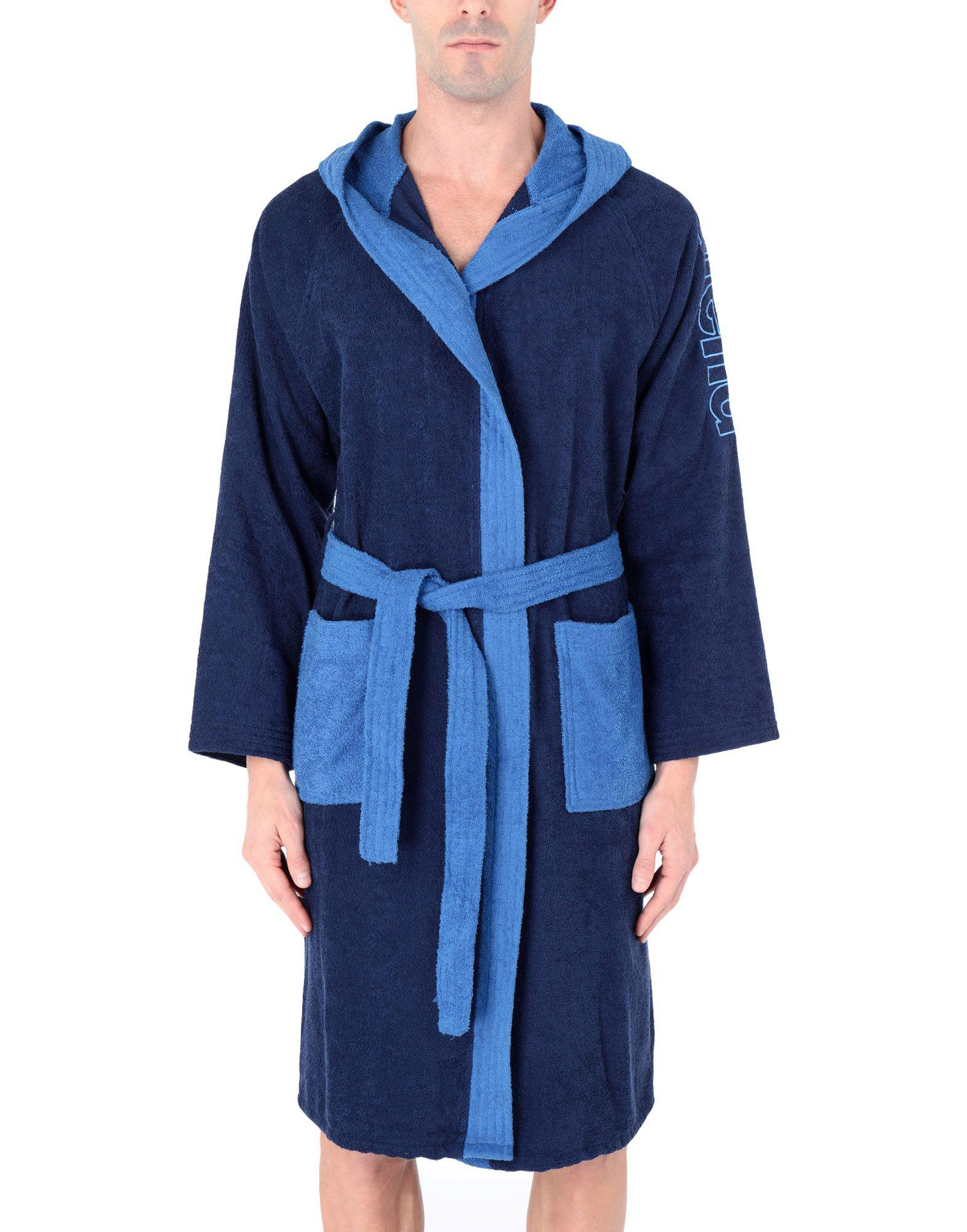 Arena Towelling Dressing Gown in Blue for Men - Lyst 8f5e535ba