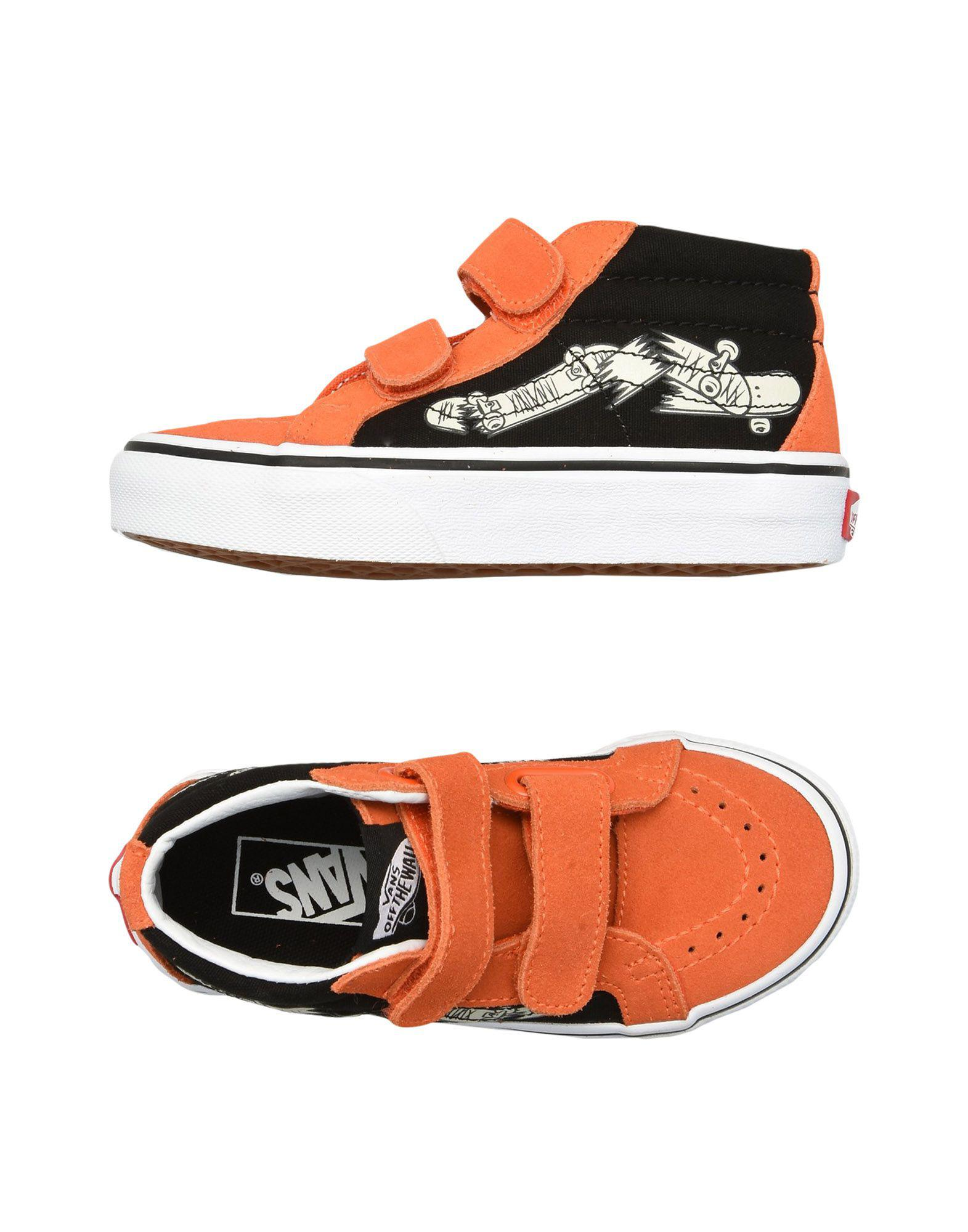 c89e8be92c2dee Vans High-tops   Sneakers in Orange for Men - Lyst