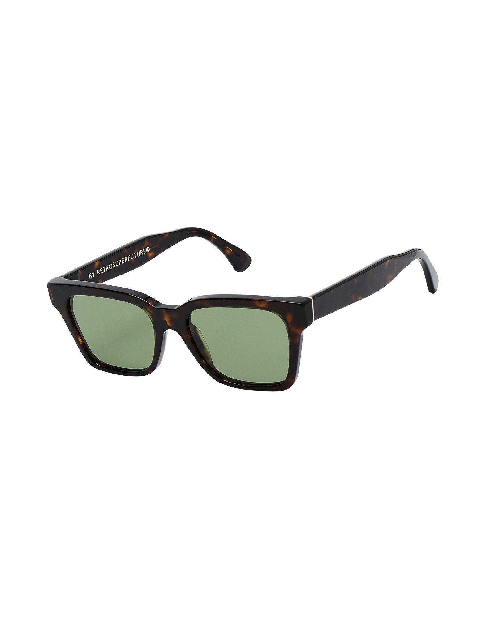 f52725b7a5 Gafas de sol Retrosuperfuture de hombre de color Verde - Lyst