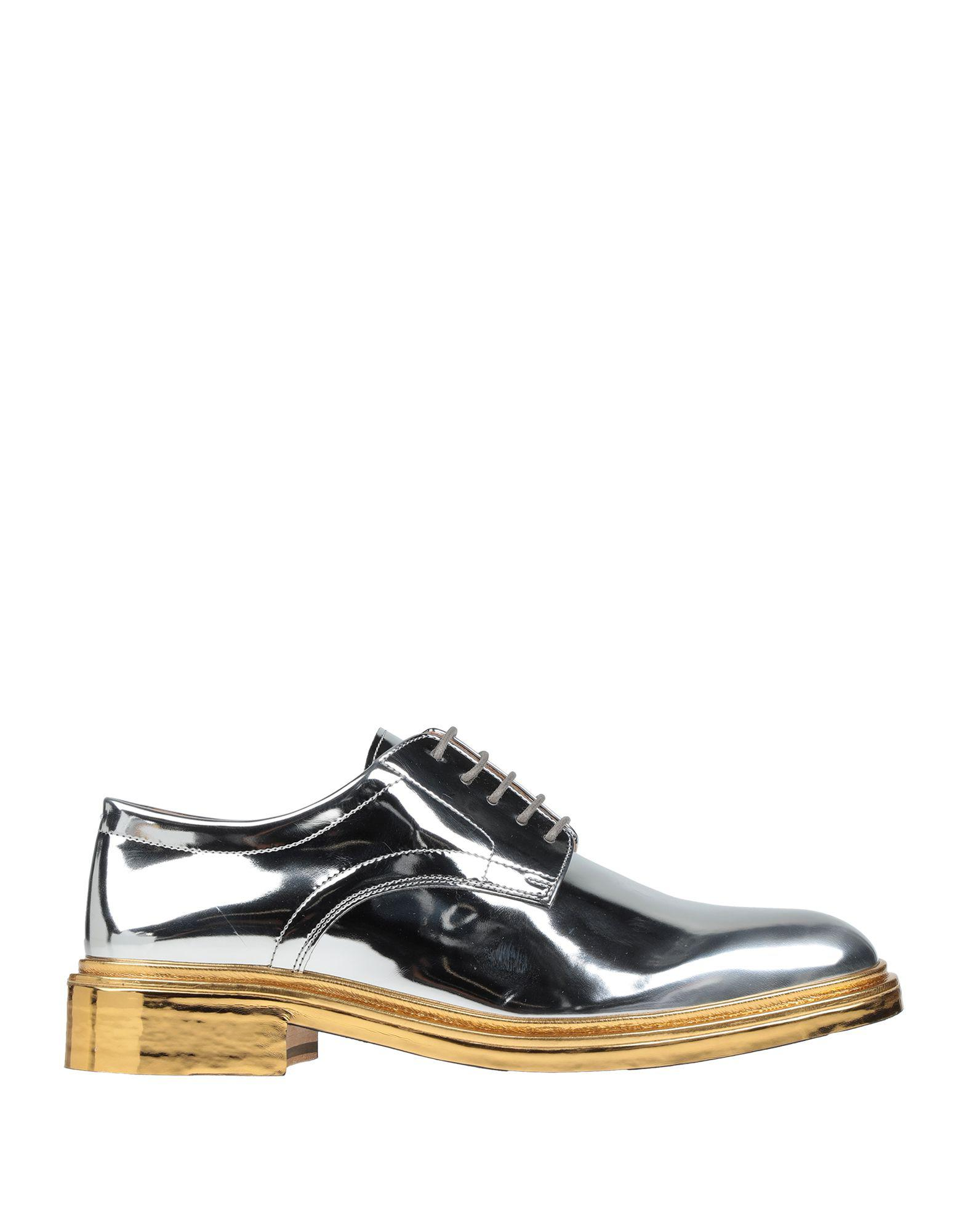 5ab9d082d09 Lyst - Maison Margiela Lace-up Shoe in Metallic for Men
