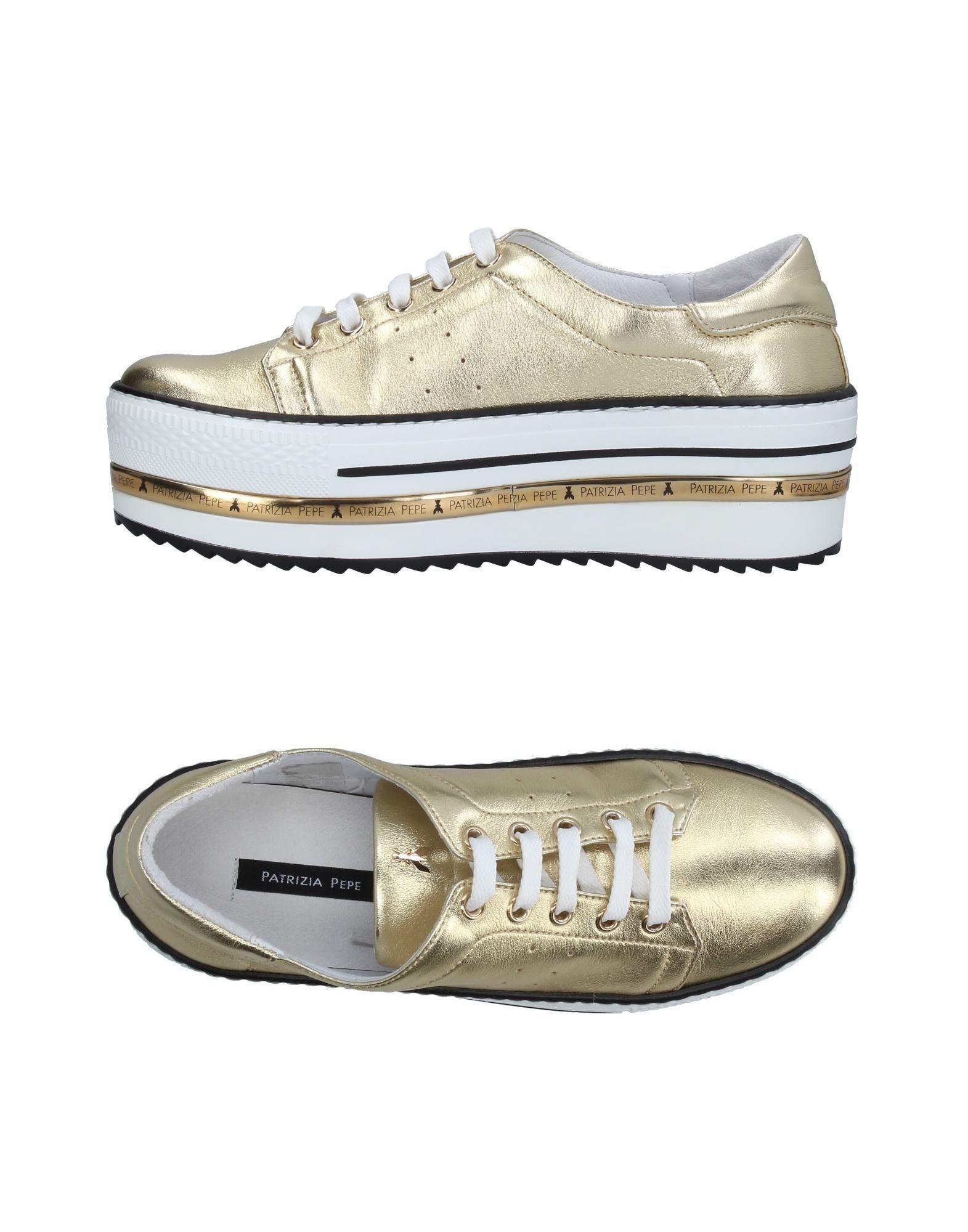 Lyst Low Tops In Patrizia Sneakers amp; Pepe Metallic ffwWPqST