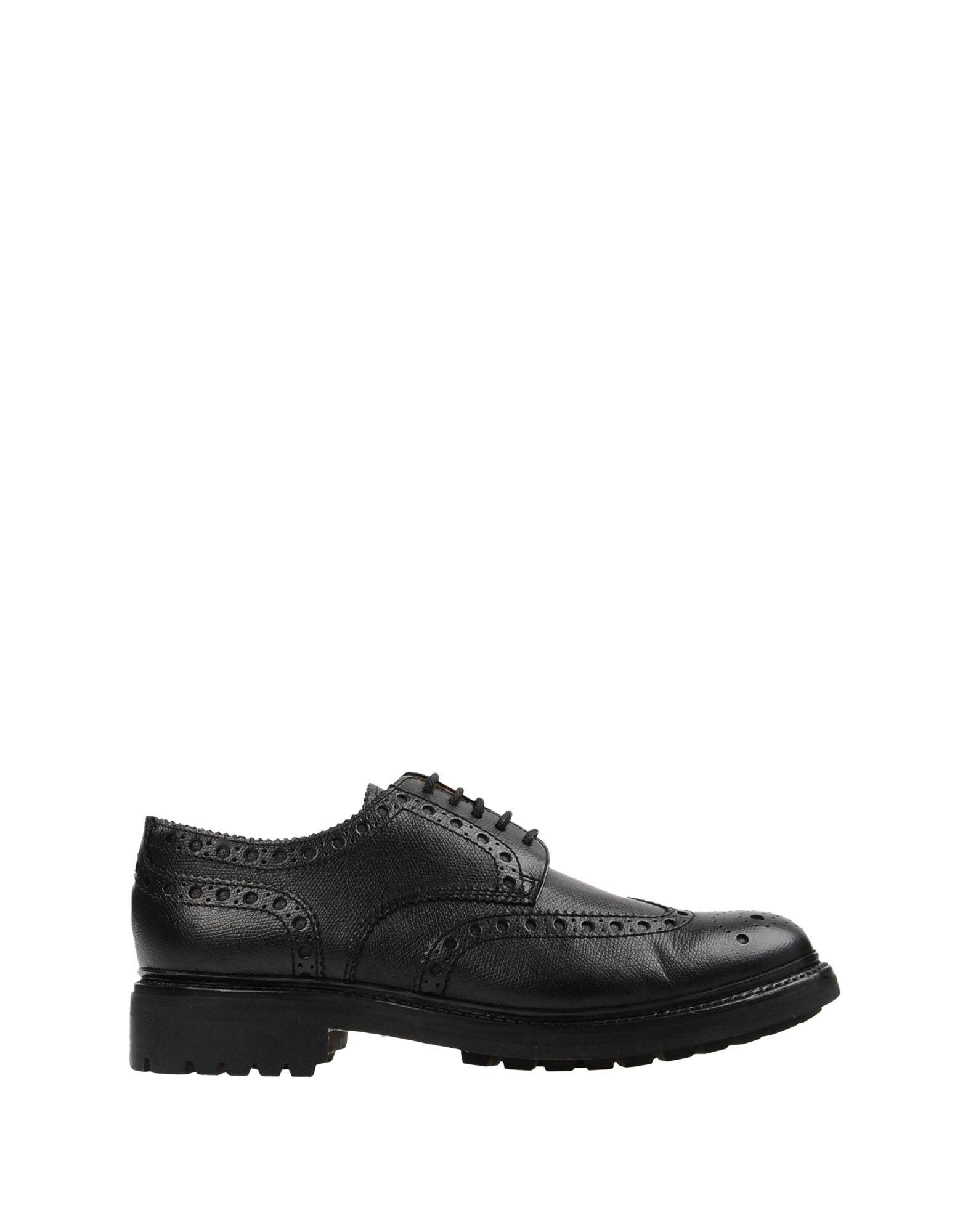 360438a523fc Lyst - Grenson Lace-up Shoe in Black for Men