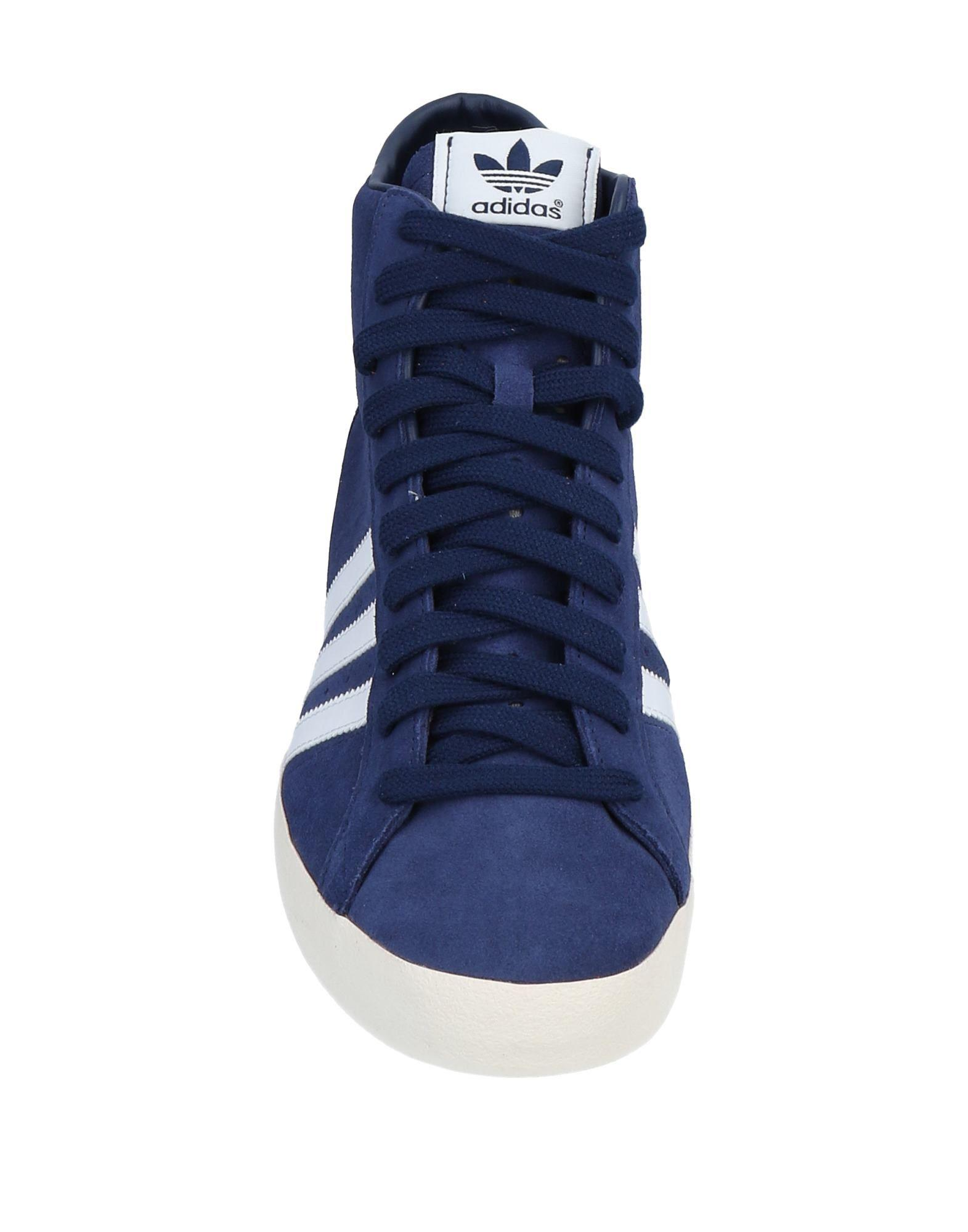 info for dfe1e 8118e Adidas Originals - Blue Sneakers abotinadas for Men - Lyst. Ver en pantalla  completa