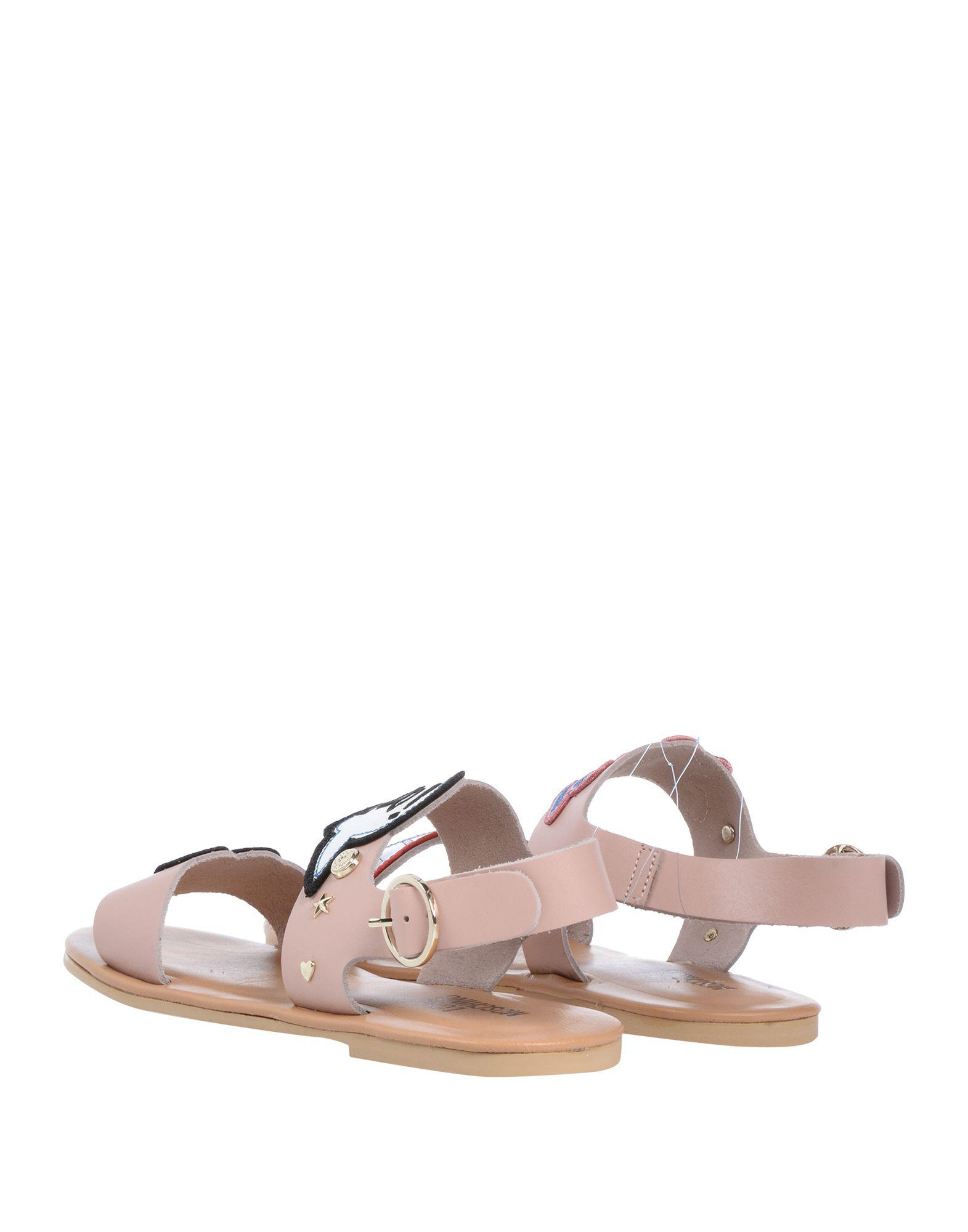 5a943264fa9b Lyst - Love Moschino Sandals in Pink
