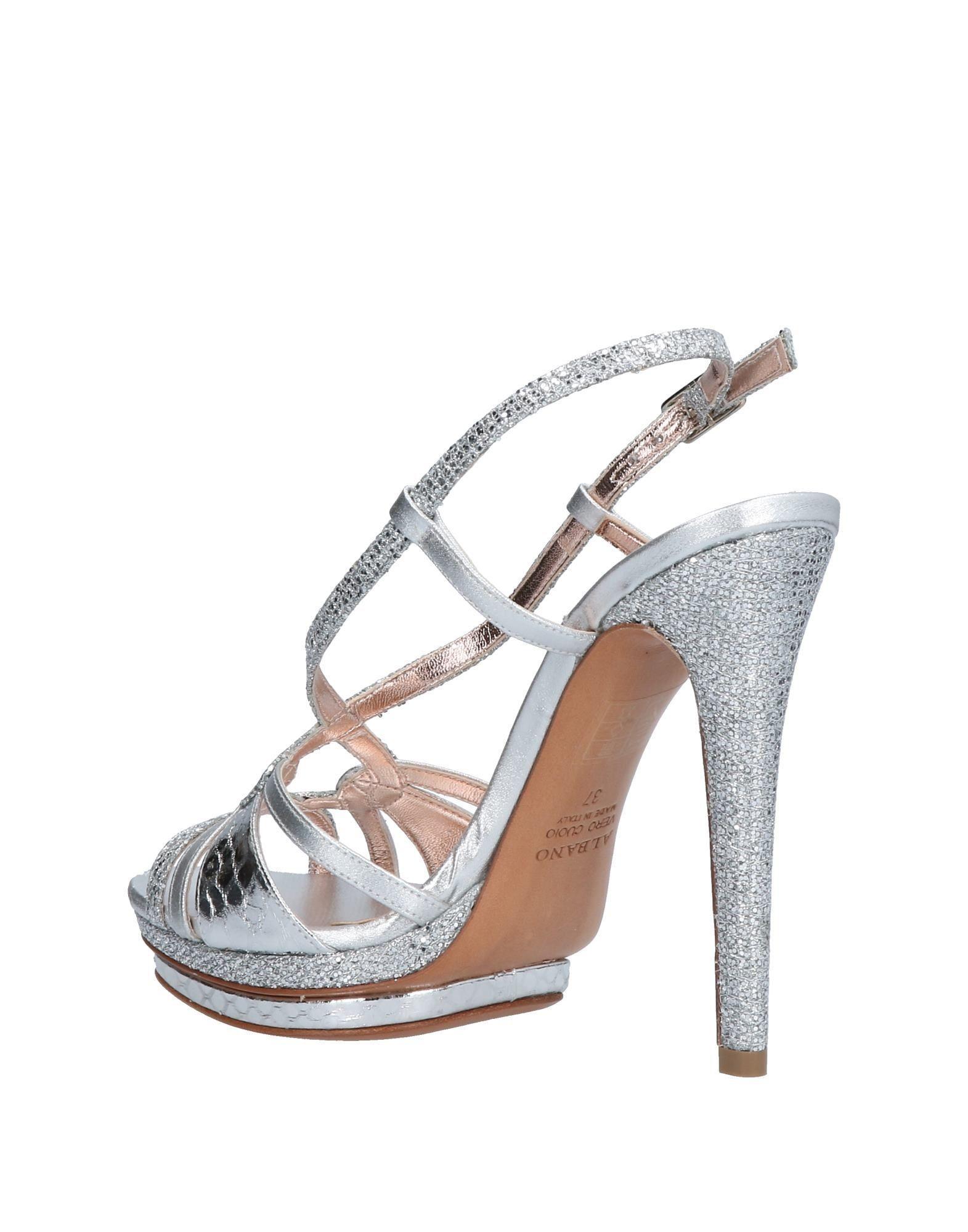808c7abe0f2d Lyst - Albano Sandals in Metallic