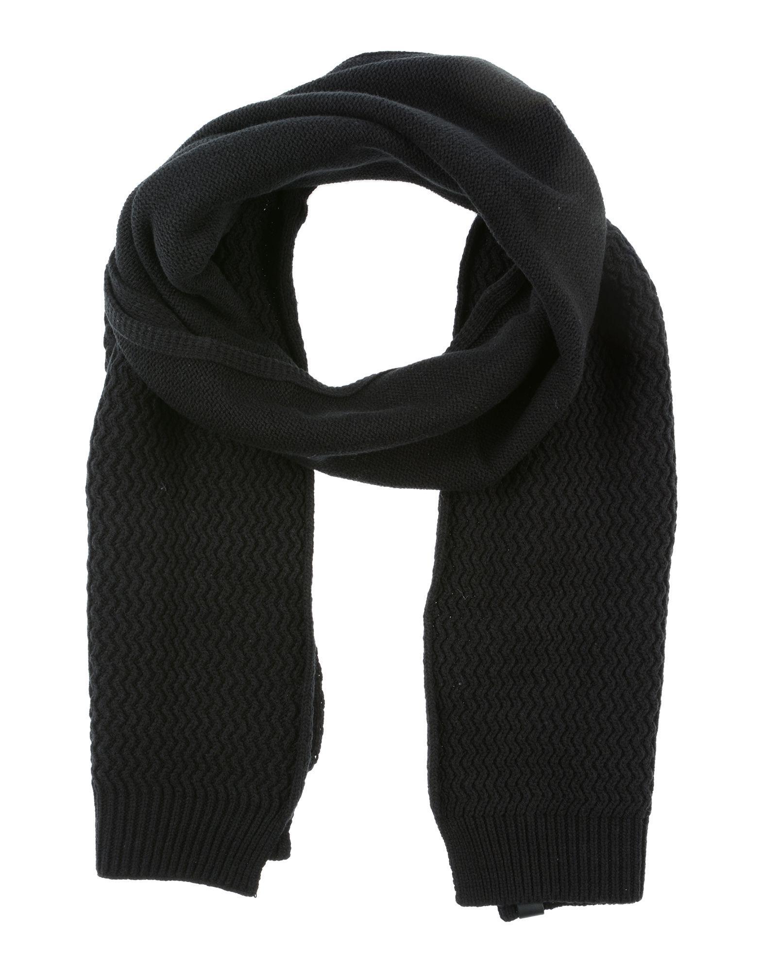 f5732ebf701a Calvin Klein Oblong Scarves in Black for Men - Lyst