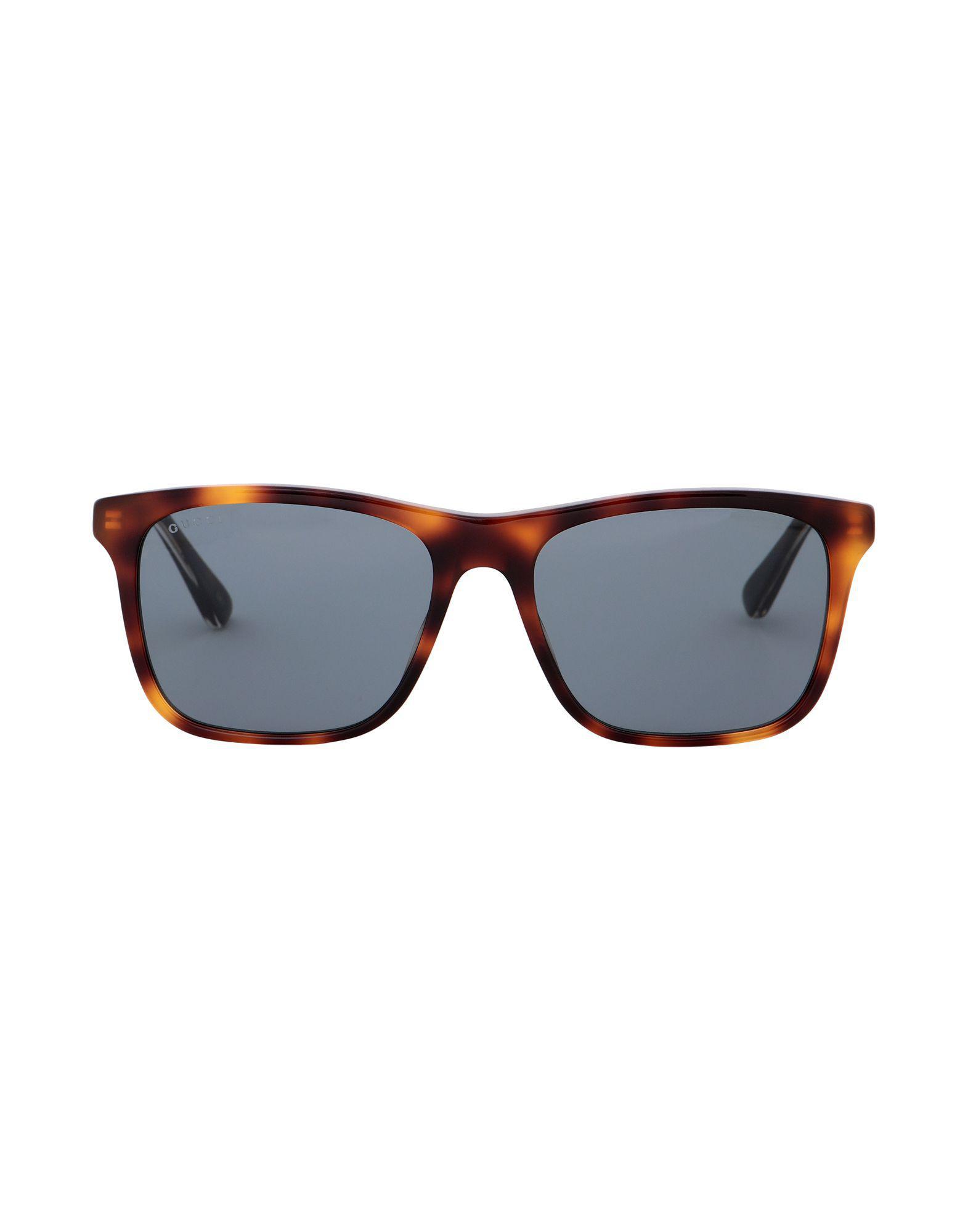 Lyst - Lunettes de soleil Gucci pour homme en coloris Bleu 76825e647269