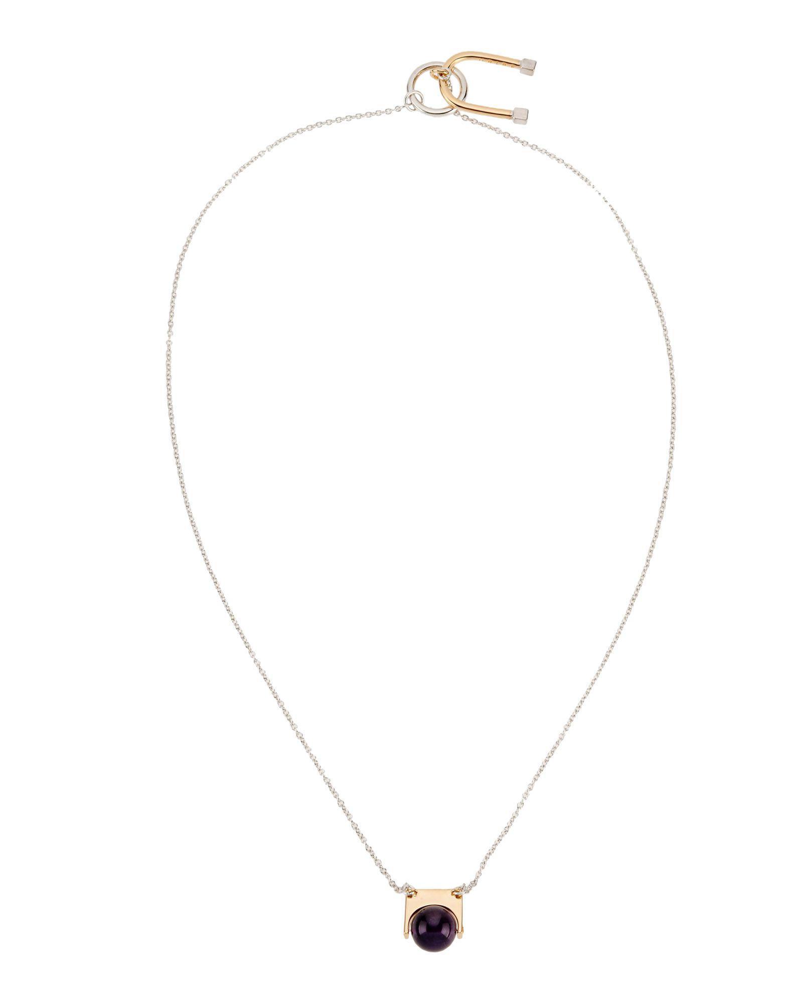 Argento Vivo JEWELRY - Necklaces su YOOX.COM ZVQyBM
