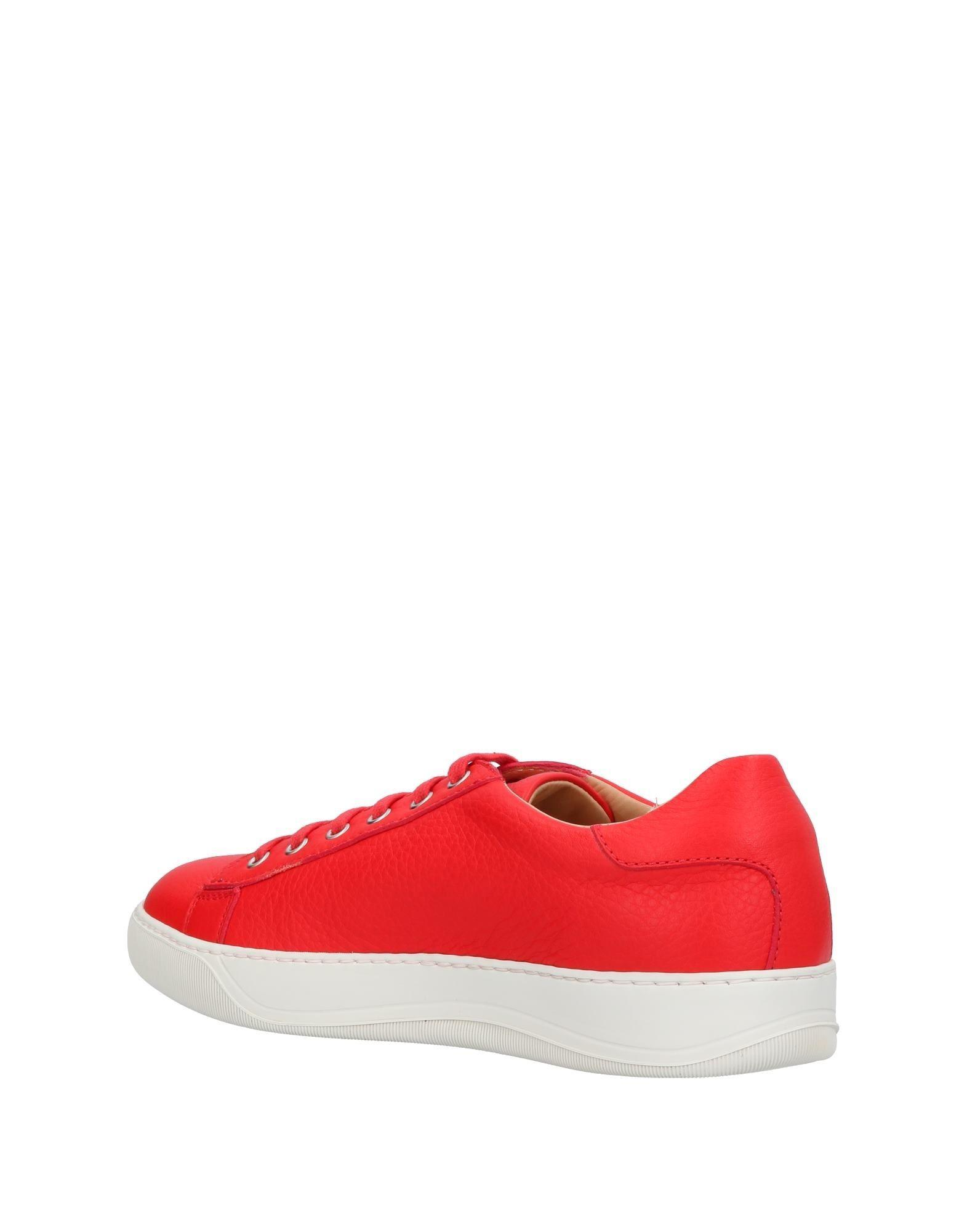 reputable site b9567 93dba santoni-Red-Low-tops-Sneakers.jpeg