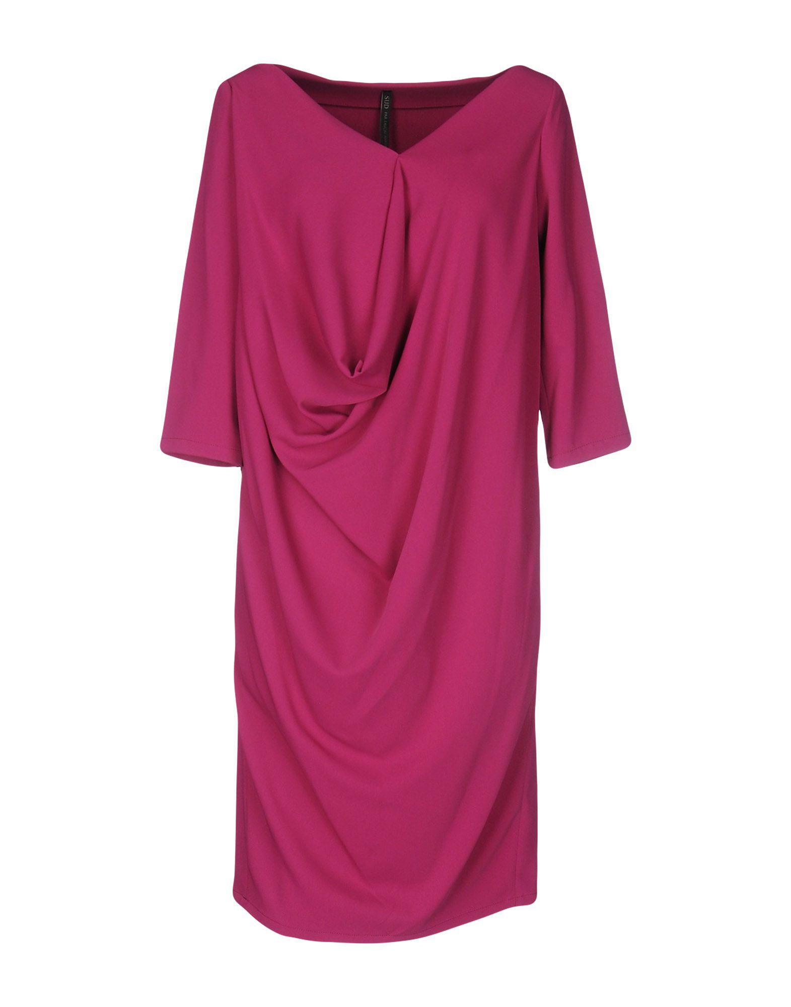 tiered v-neck dress - Pink & Purple Plein Sud qG0wY