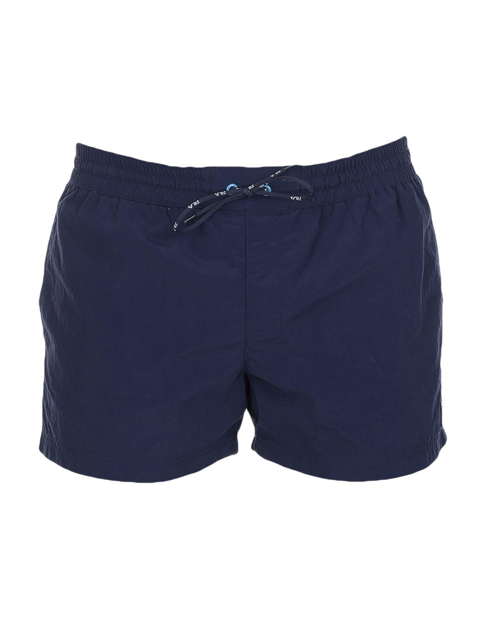 d414e7678a01d Lyst - Fila Swimming Trunks in Blue for Men