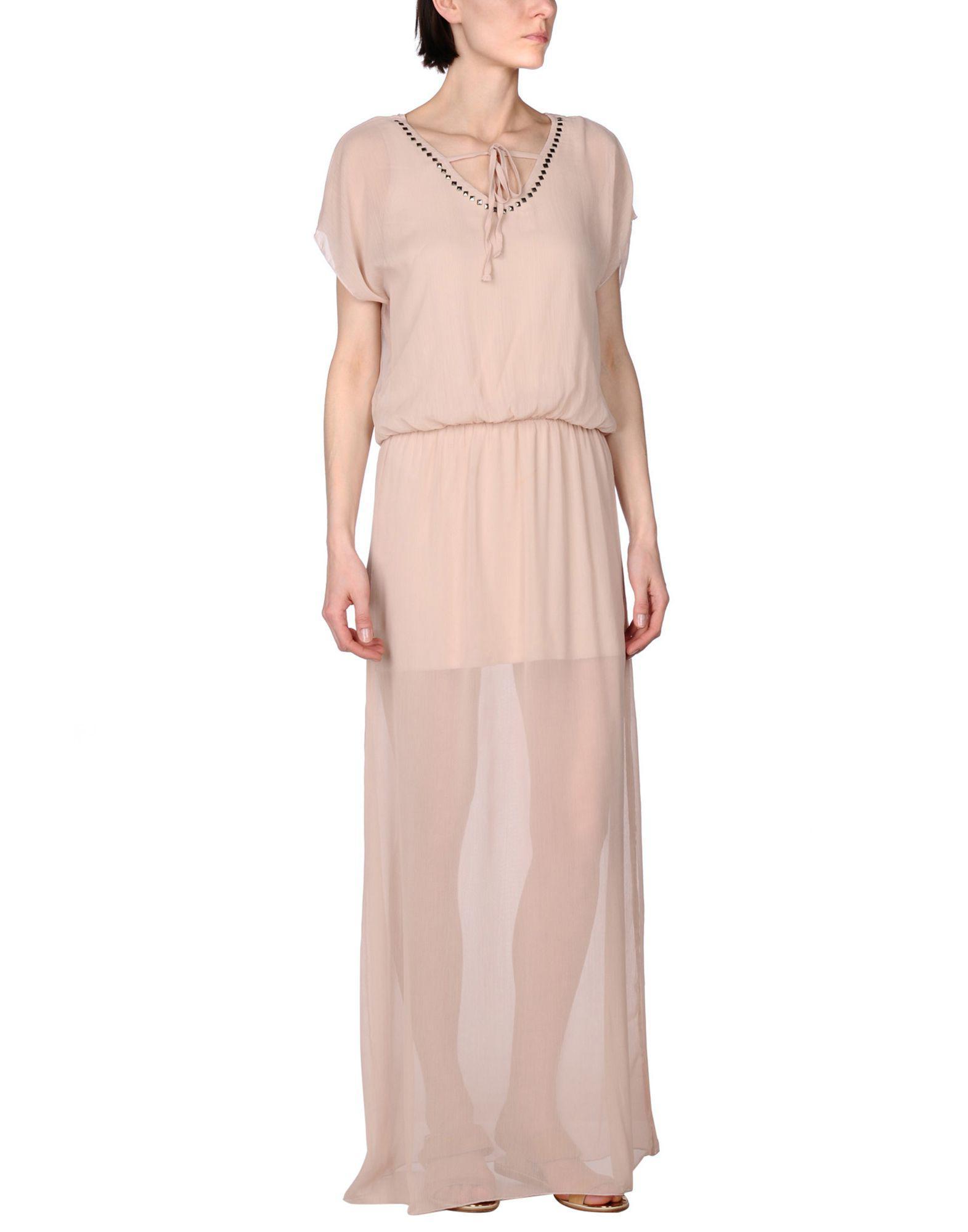 DRESSES - Long dresses Cafènoir Buy Cheap Big Discount bMSEH0