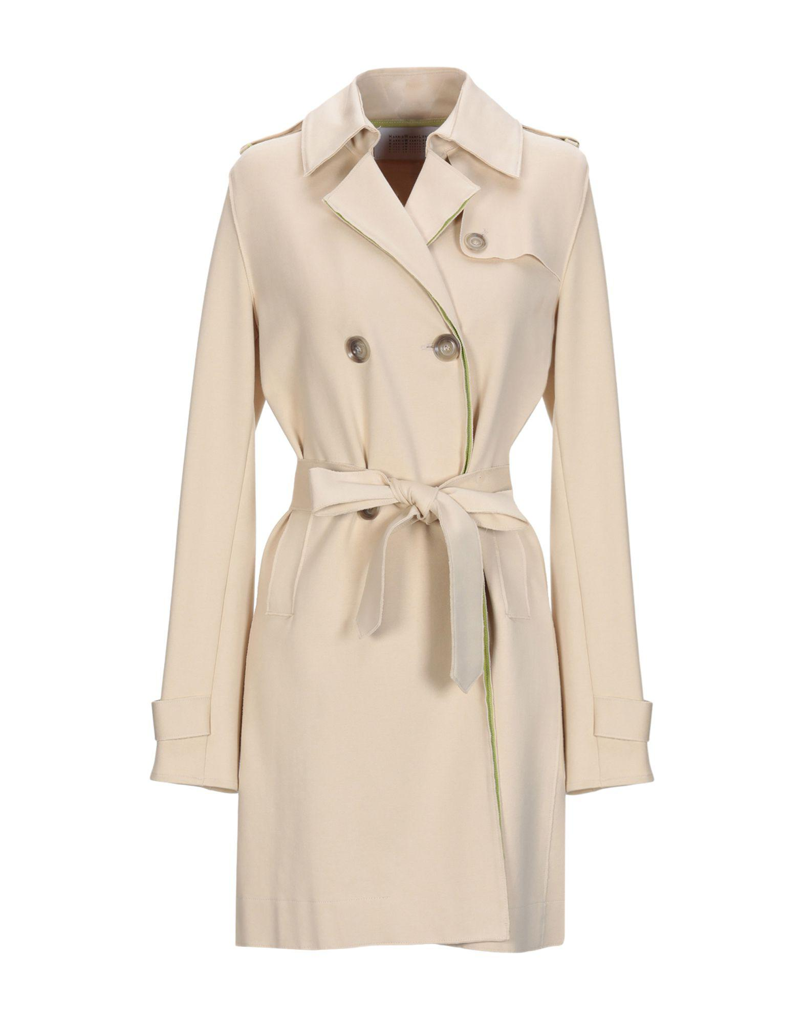 61699b2180bd4 Lyst - Harris Wharf London Overcoat in Natural