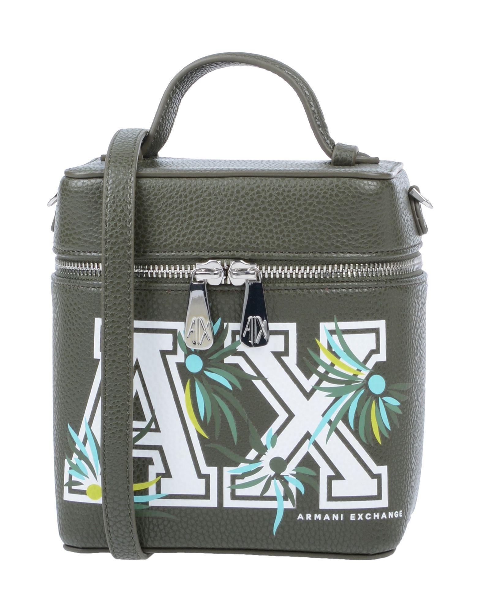 Armani Exchange - Green Handbag - Lyst. View fullscreen 5b5de287787c2